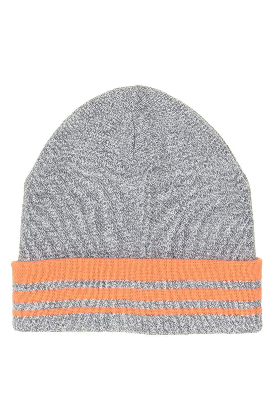 Alternate Image 1 Selected - Topshop Stripe Beanie