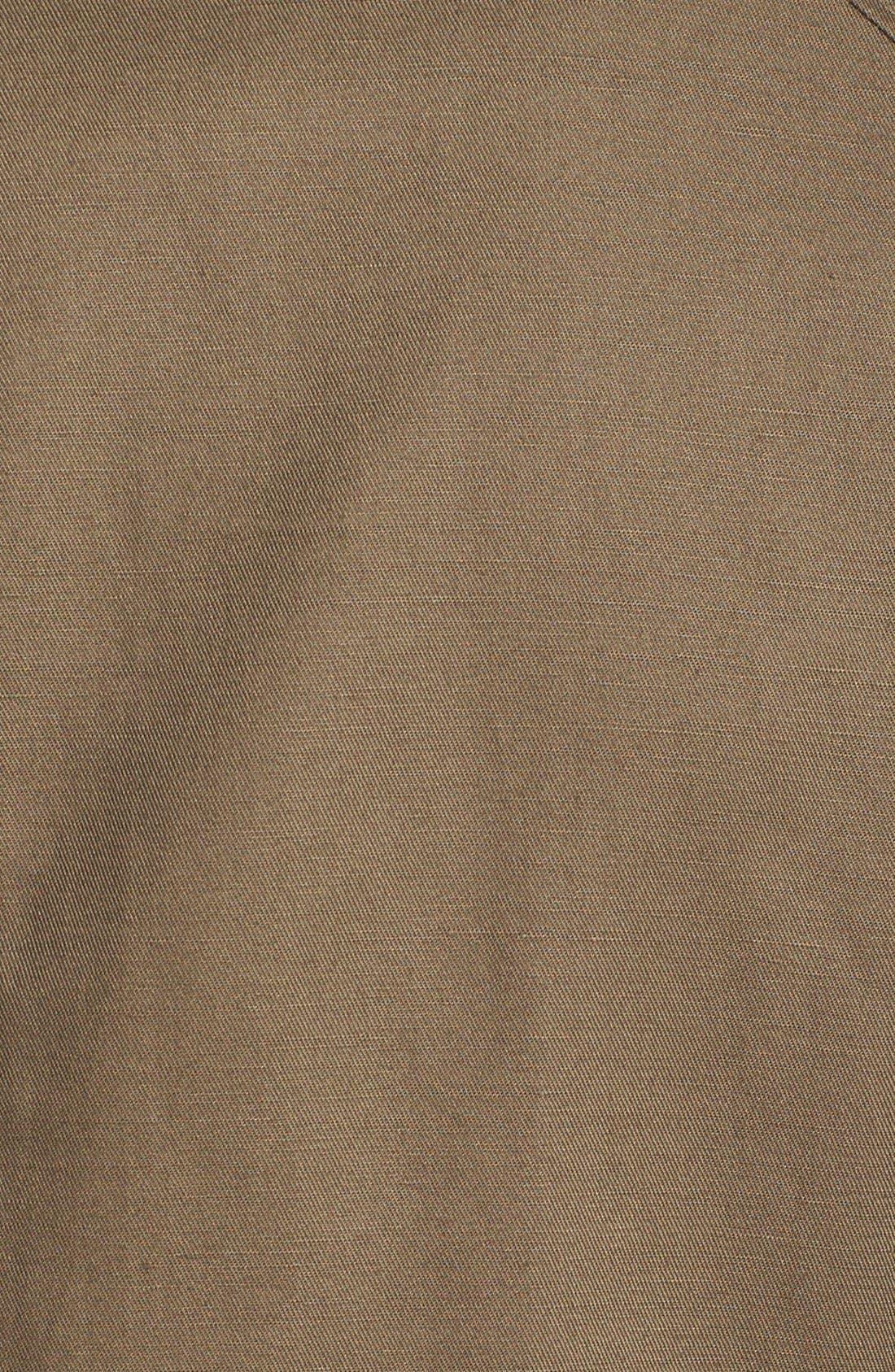 Alternate Image 3  - Vince Camuto Slim Fit Cotton & Linen Blazer