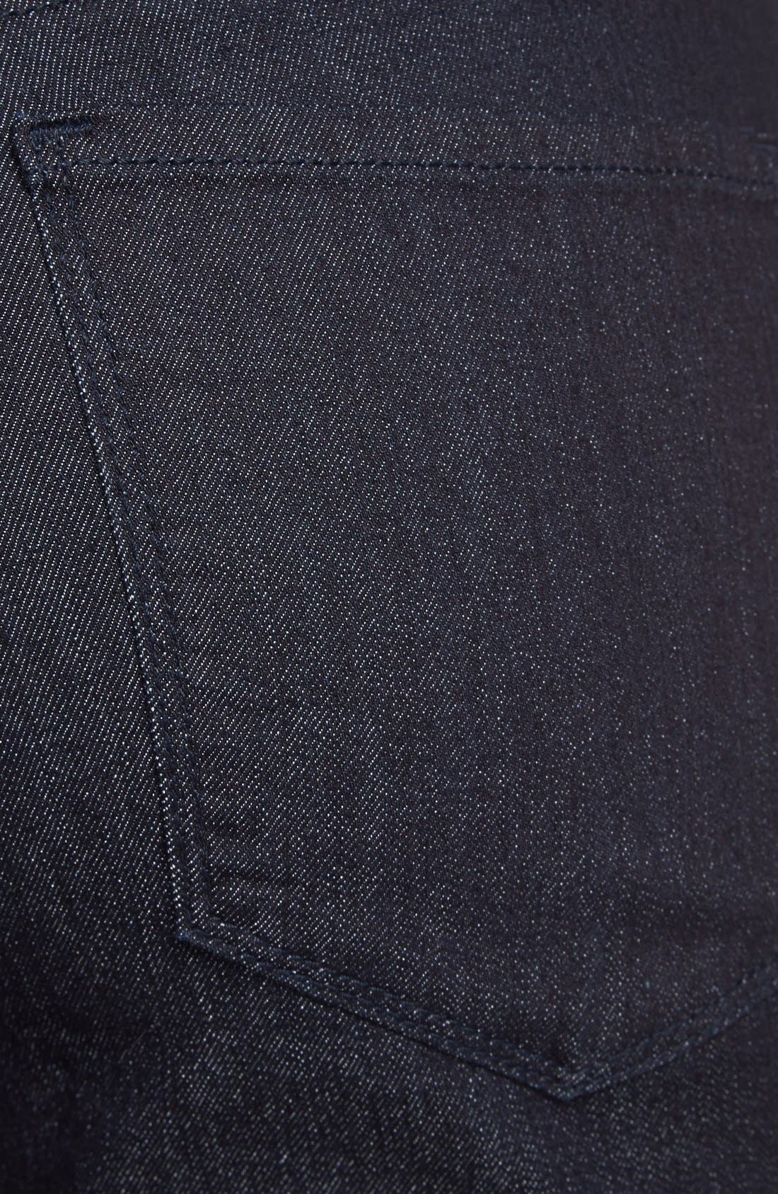 Alternate Image 3  - NYDJ 'Millie' Pull-On Stretch Fitted Ankle Jeans (Dark Enzyme) (Regular & Petite)