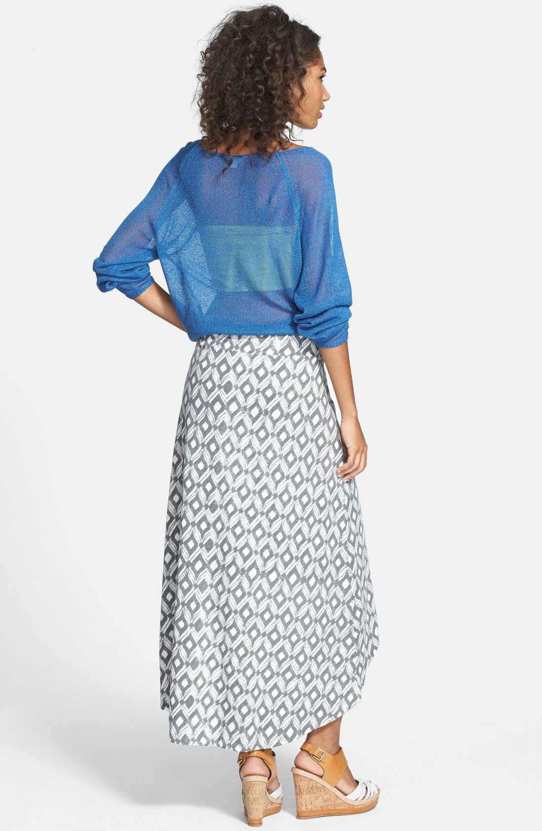 Alternate Image 2  - Threads for Thought High/Low Jersey Skirt