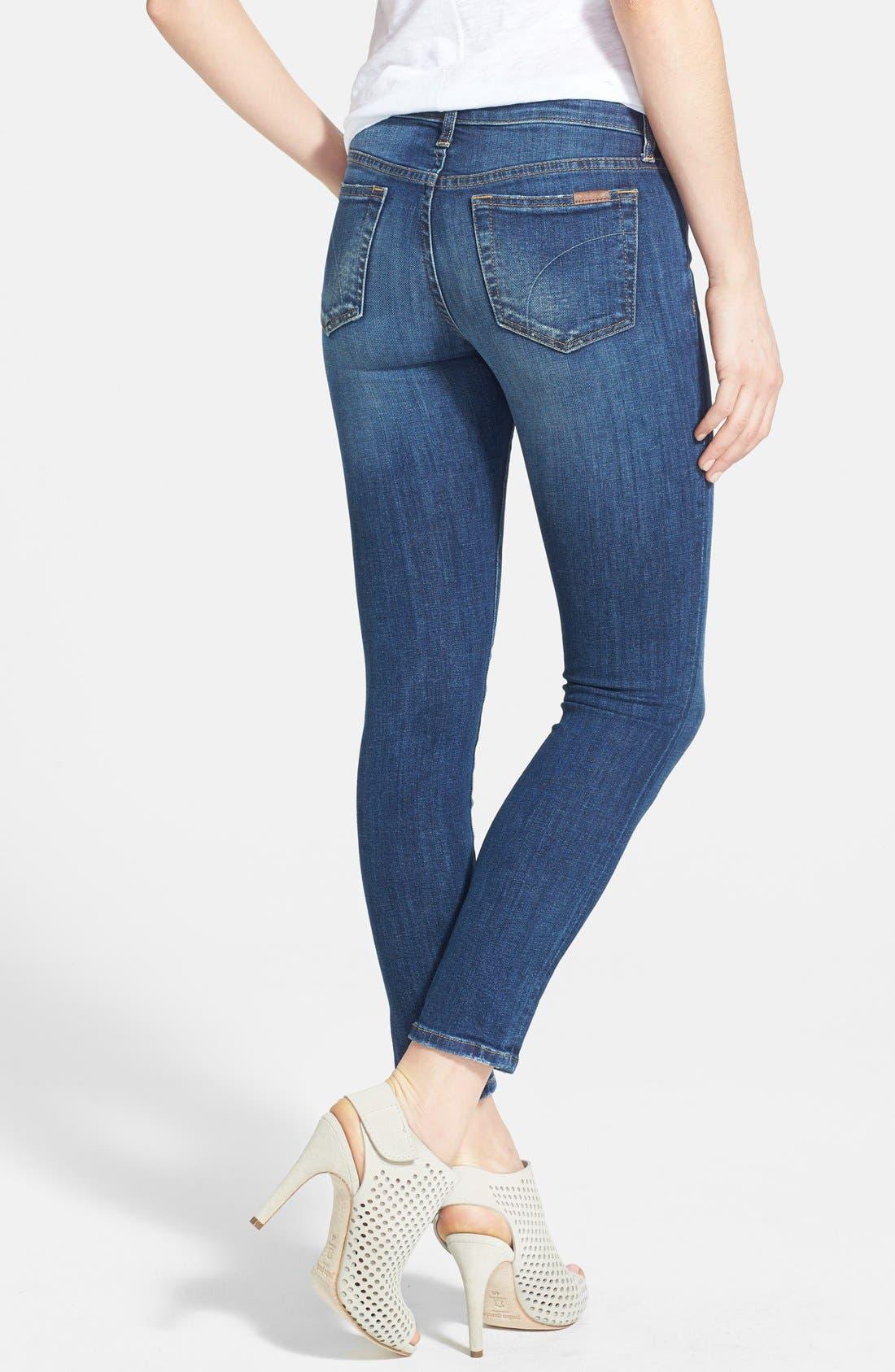 Alternate Image 2  - Joe's Ankle Skinny Jeans (Aubree)