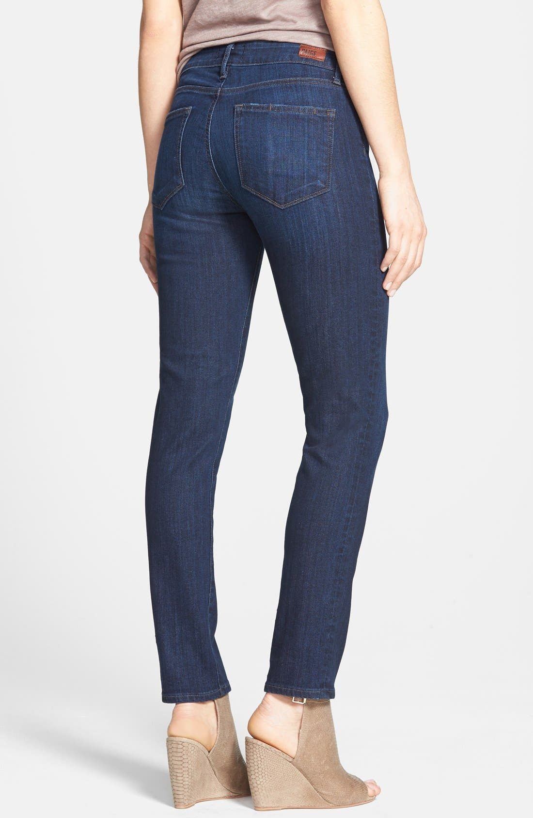 Alternate Image 2  - Paige Denim 'Skyline' Ankle Peg Skinny Jeans (Dixie) (Nordstrom Exclusive)