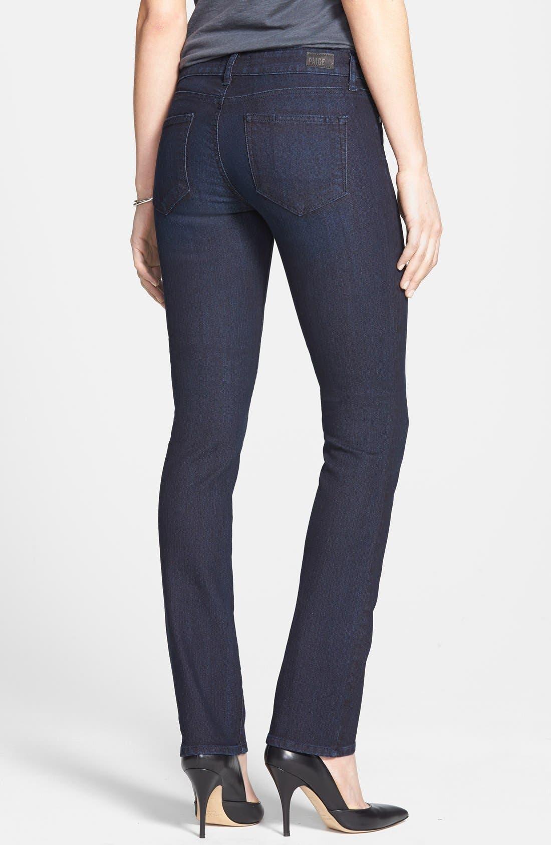 Alternate Image 2  - Paige Denim 'Skyline' Straight Leg Jeans (Palmer) (Nordstrom Exclusive)