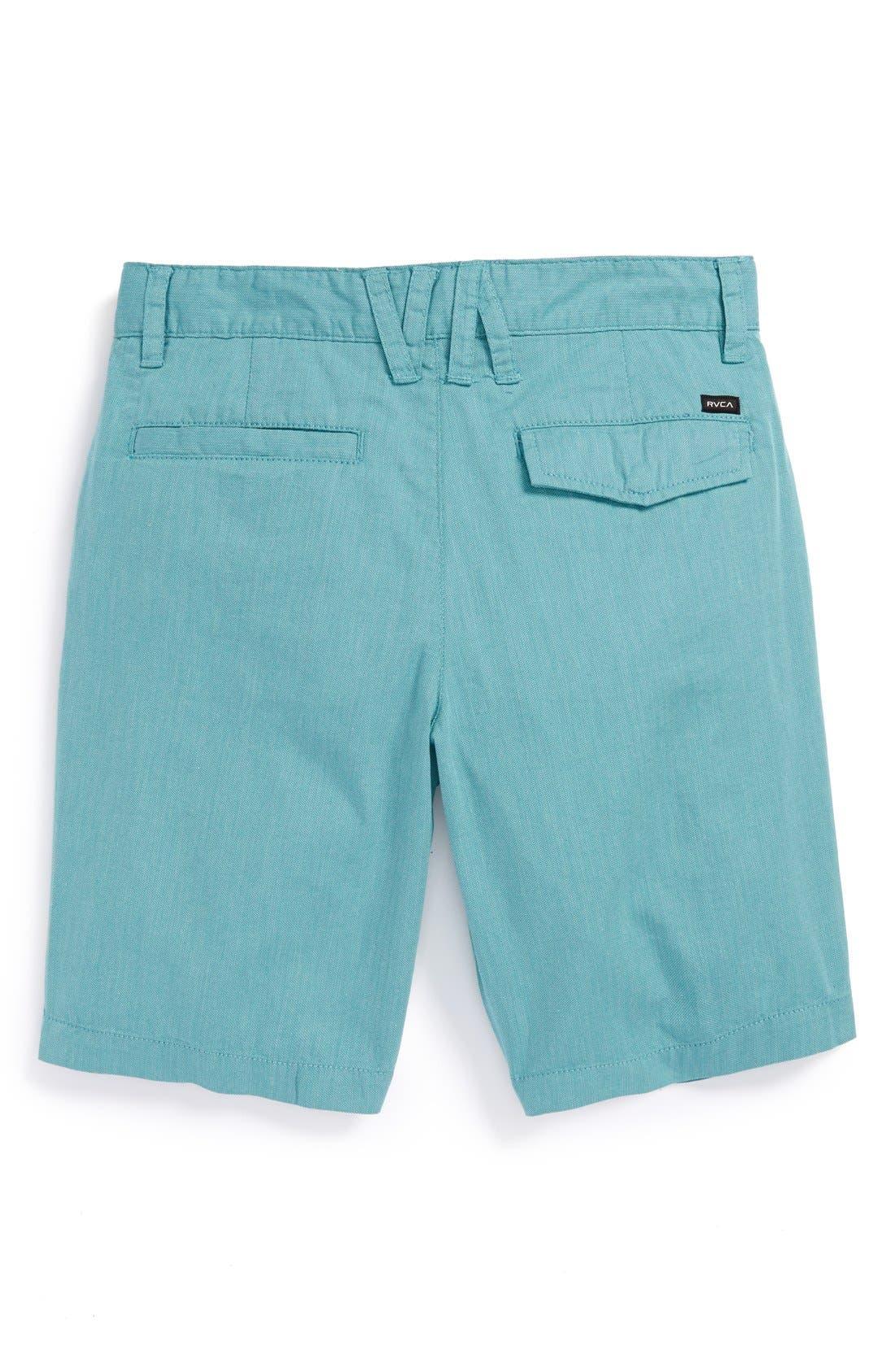 Alternate Image 2  - RVCA 'Fracture' Shorts (Big Boys)