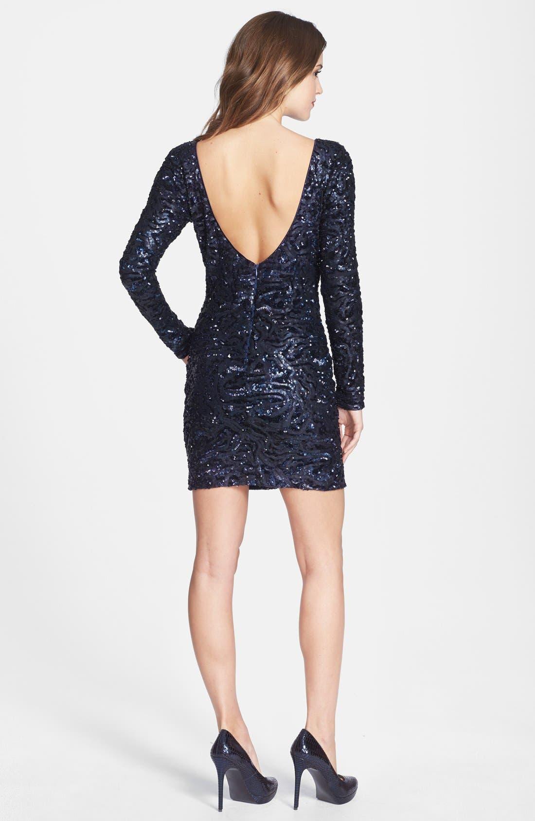Alternate Image 2  - Dress the Population 'Lola' Sequin Body-Con Dress (Nordstrom Online Exclusive)