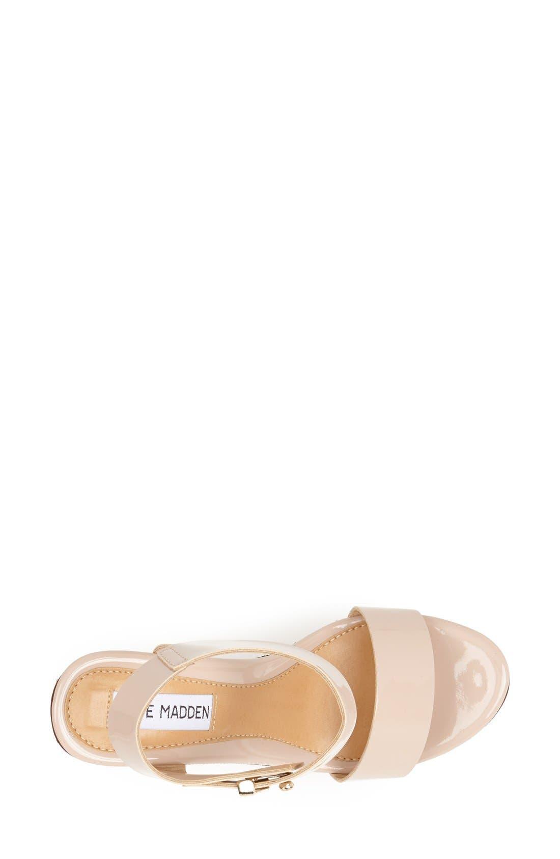 Alternate Image 3  - Steve Madden 'Boozey' Wedge Sandal (Women)