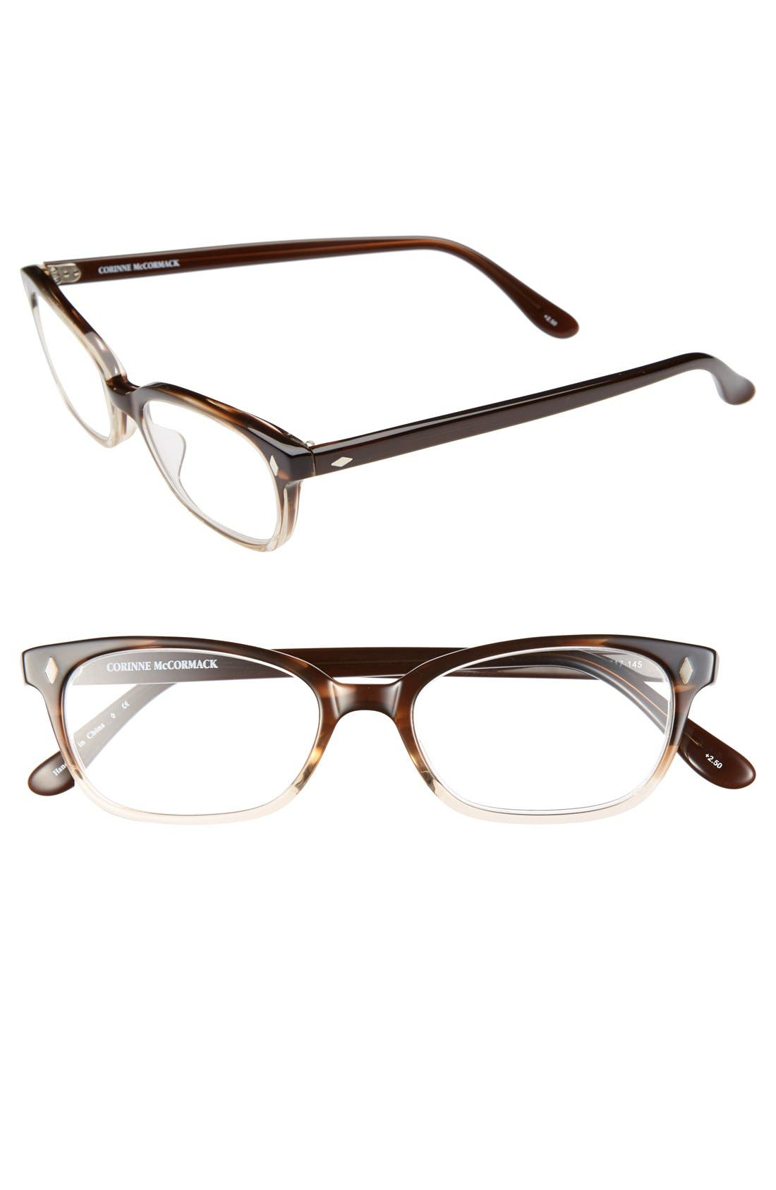 Main Image - Corinne McCormack 50mm Reading Glasses (2 for $88)