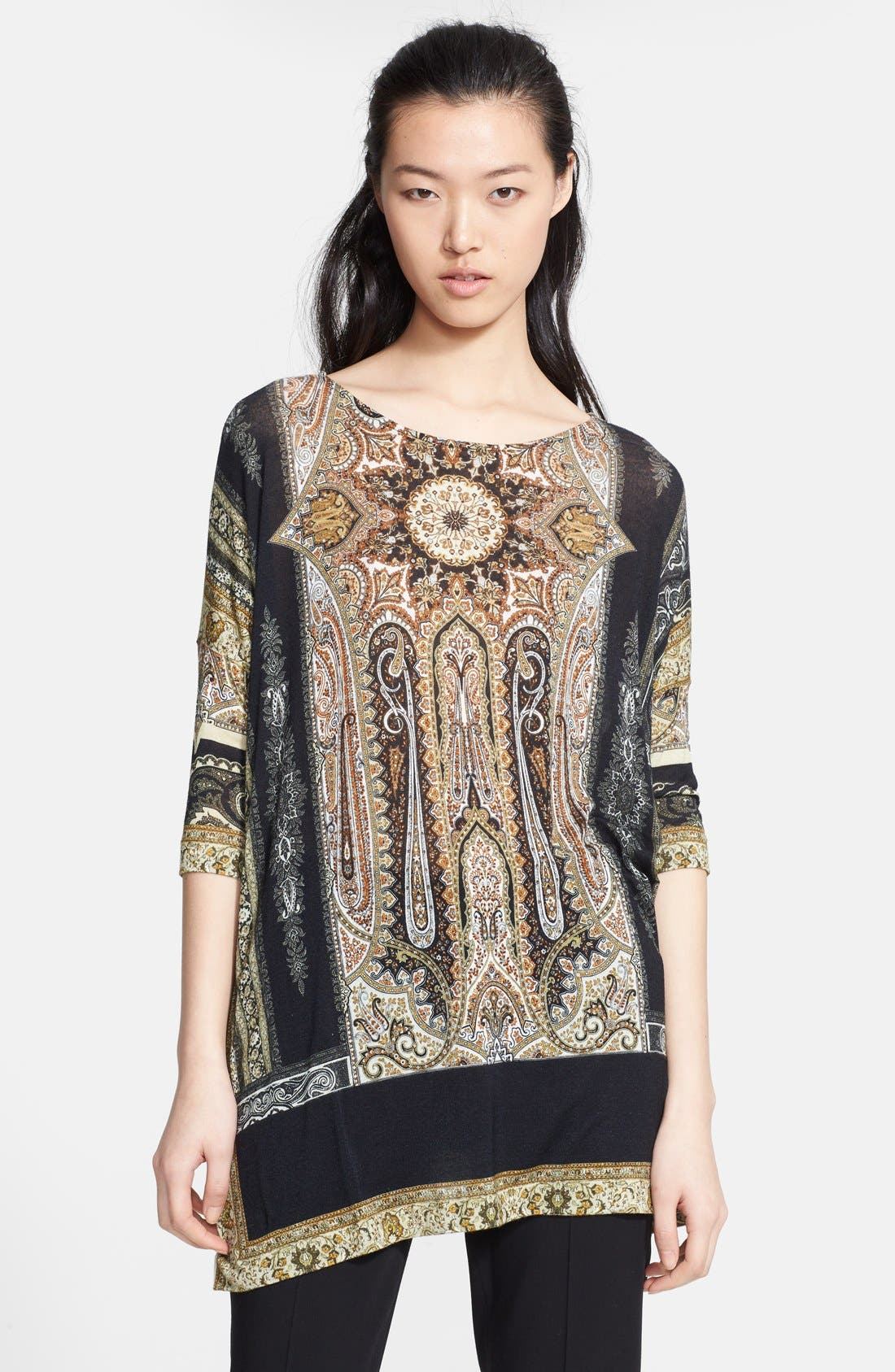 Alternate Image 1 Selected - Etro Print Jersey Tunic