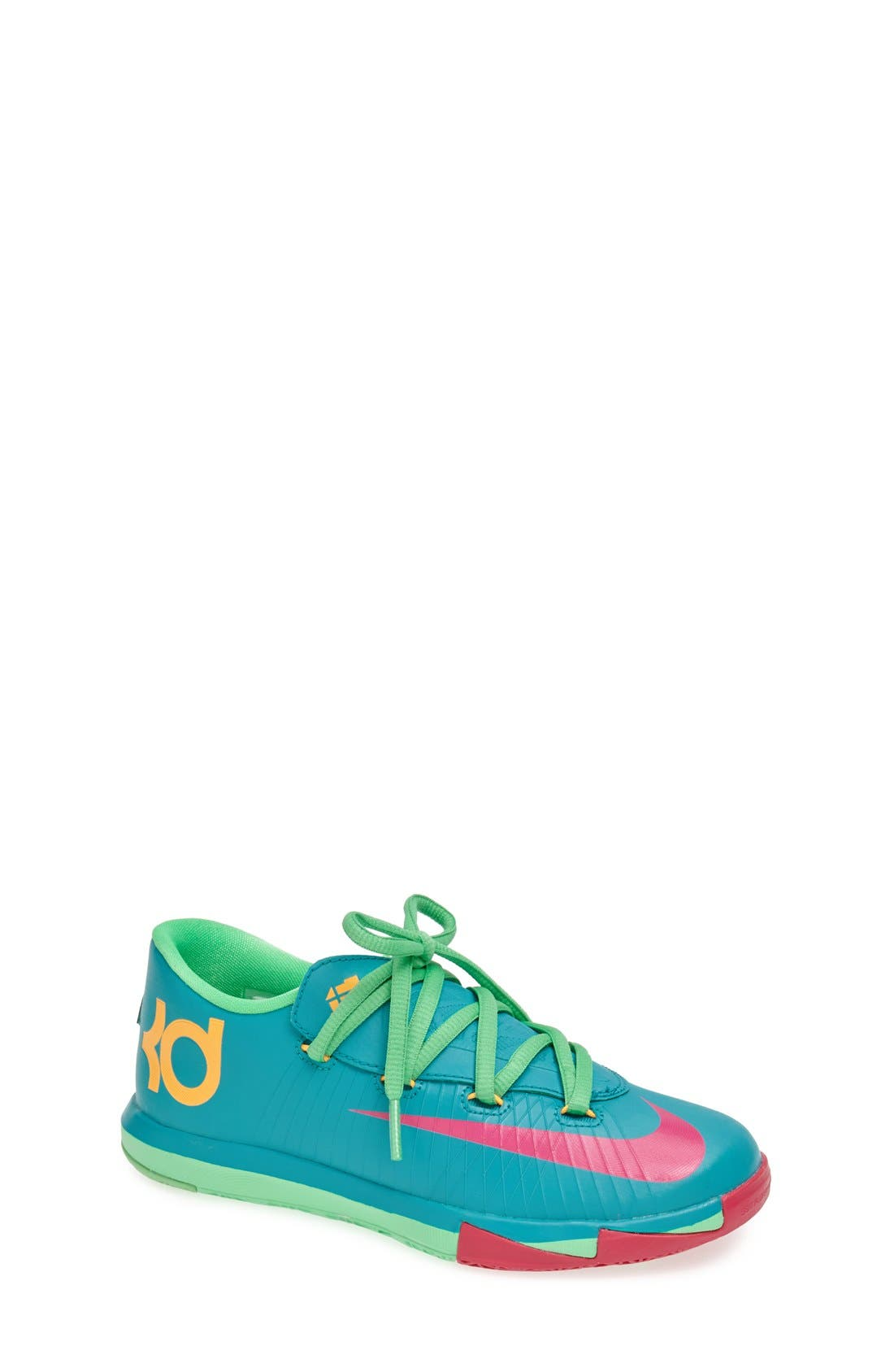 Alternate Image 1 Selected - Nike 'KD VI' Basketball Shoe (Walker, Toddler & Little Kid)
