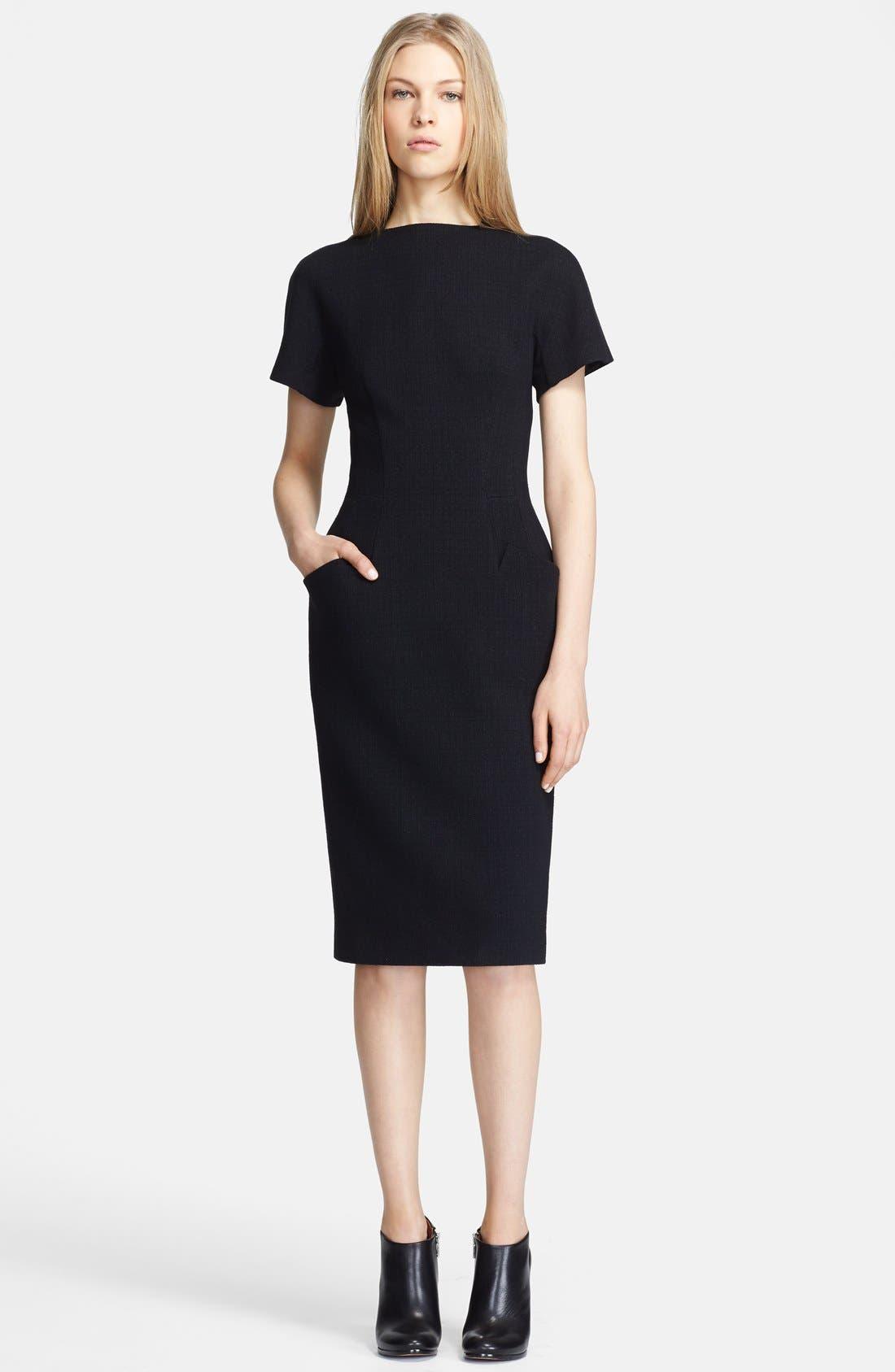 Alternate Image 1 Selected - Proenza Schouler Short Sleeve Jersey Dress