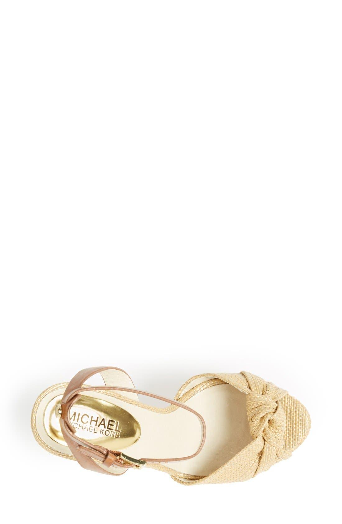 Alternate Image 3  - MICHAEL Michael Kors 'Benji' Platform Sandal