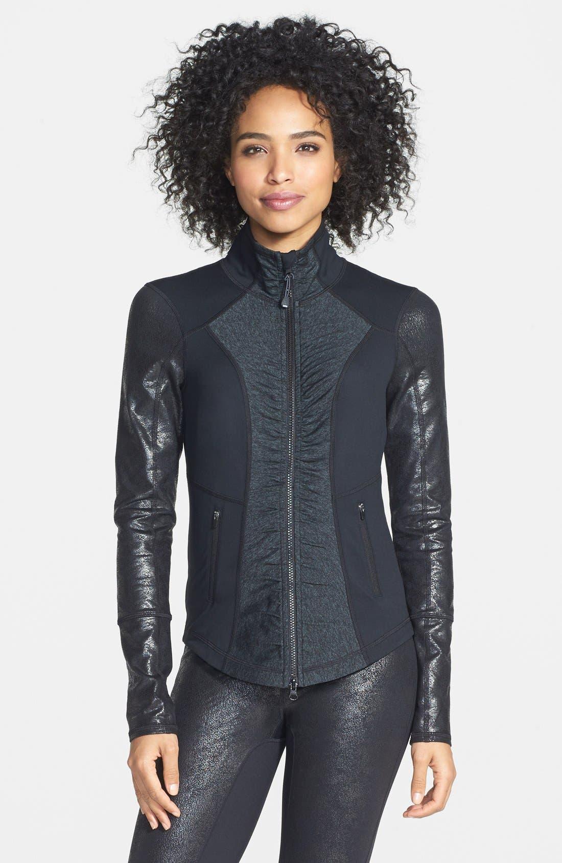 Alternate Image 1 Selected - Zella 'Essential - Lamination' Jacket
