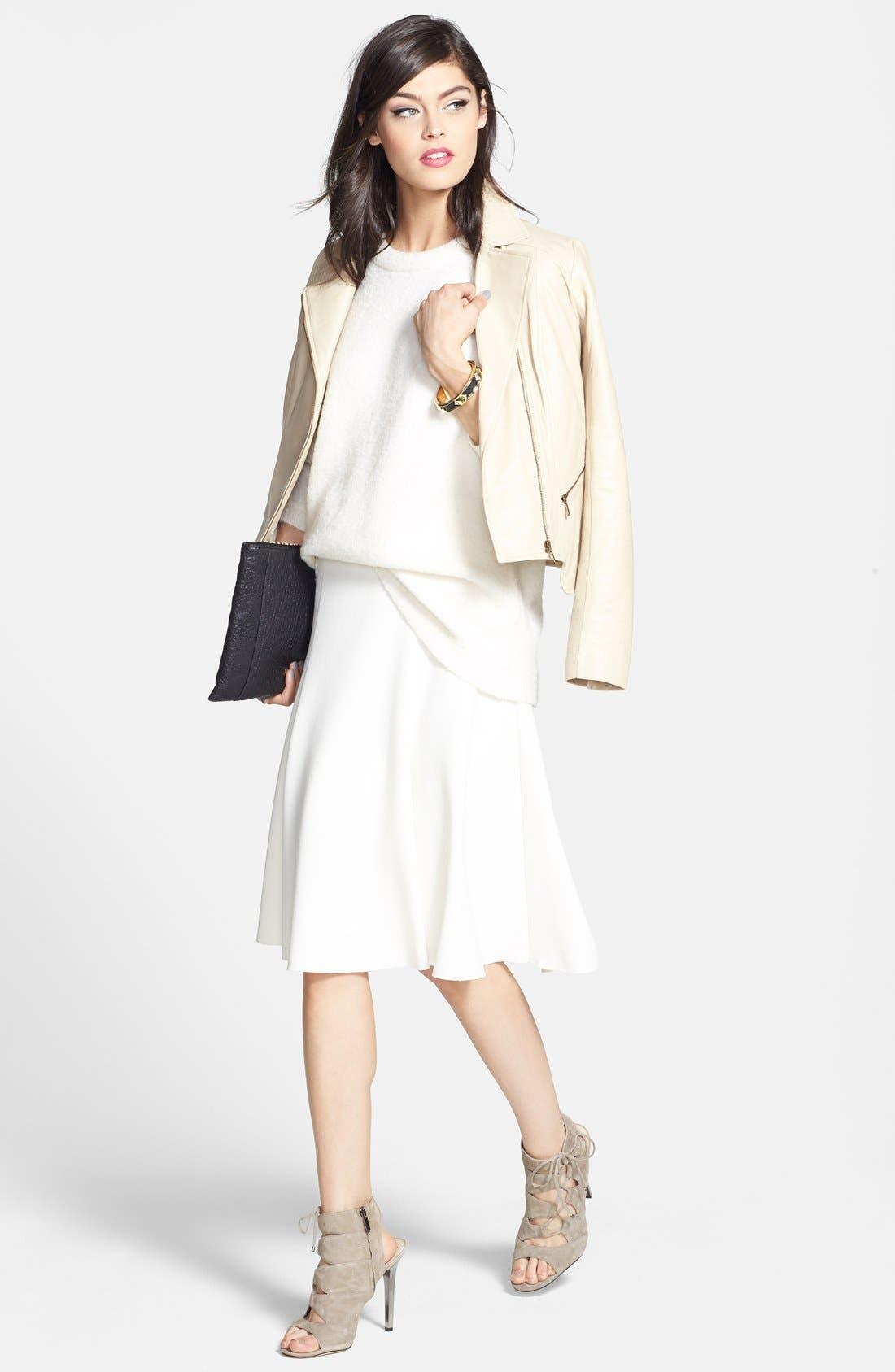 Alternate Image 4  - Chelsea28 Fit & Flare Skirt