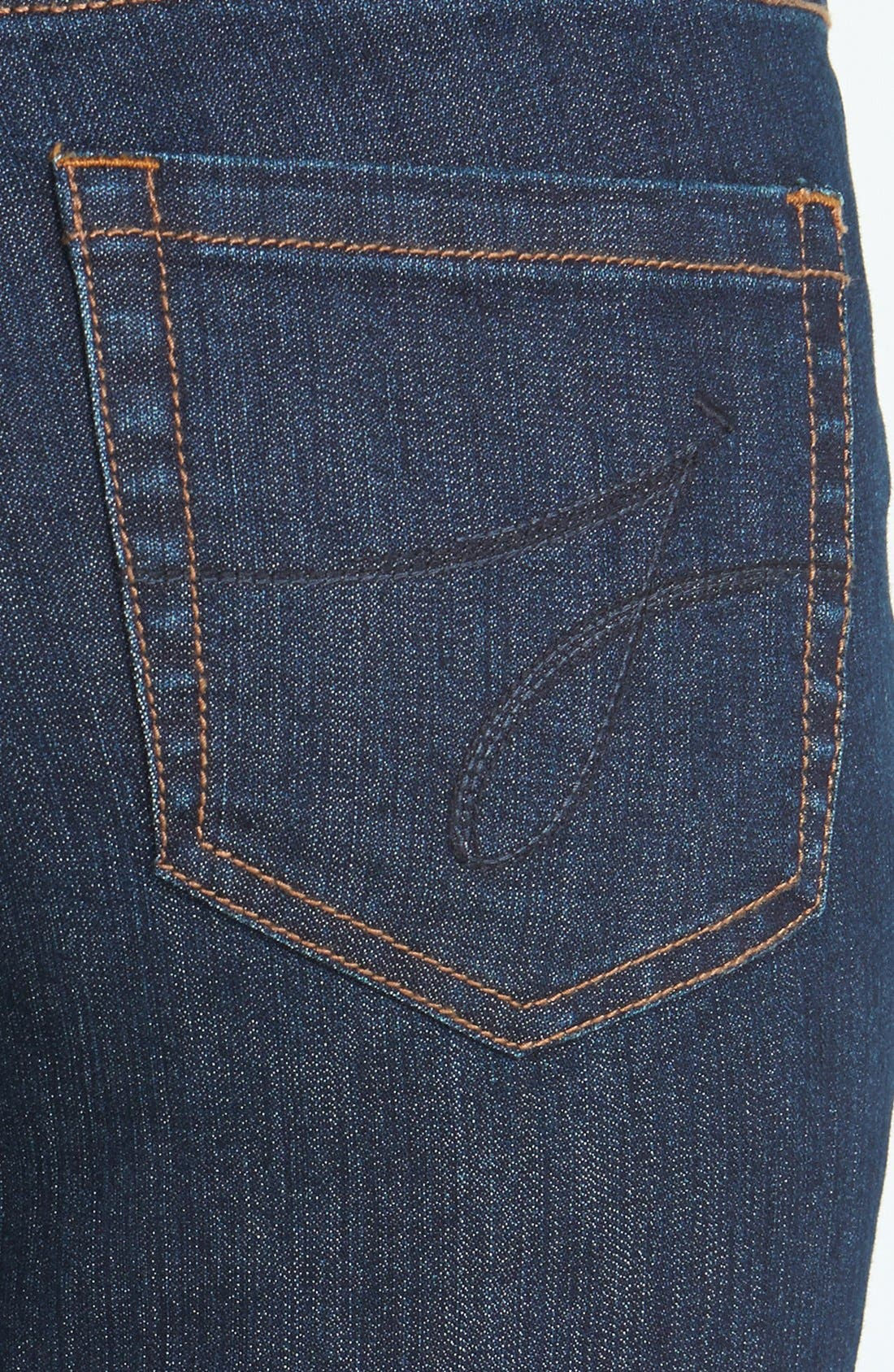 Alternate Image 3  - Jag Jeans 'Peri' Pull-On Straight Leg Jeans (Dark Shadow) (Online Only)
