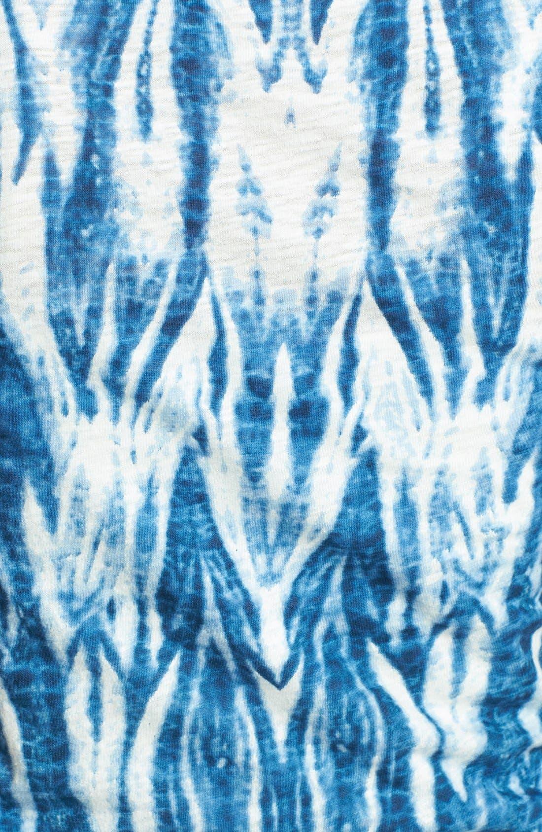 Alternate Image 3  - Lucky Brand Tie Dye Eyelet Cotton Tank