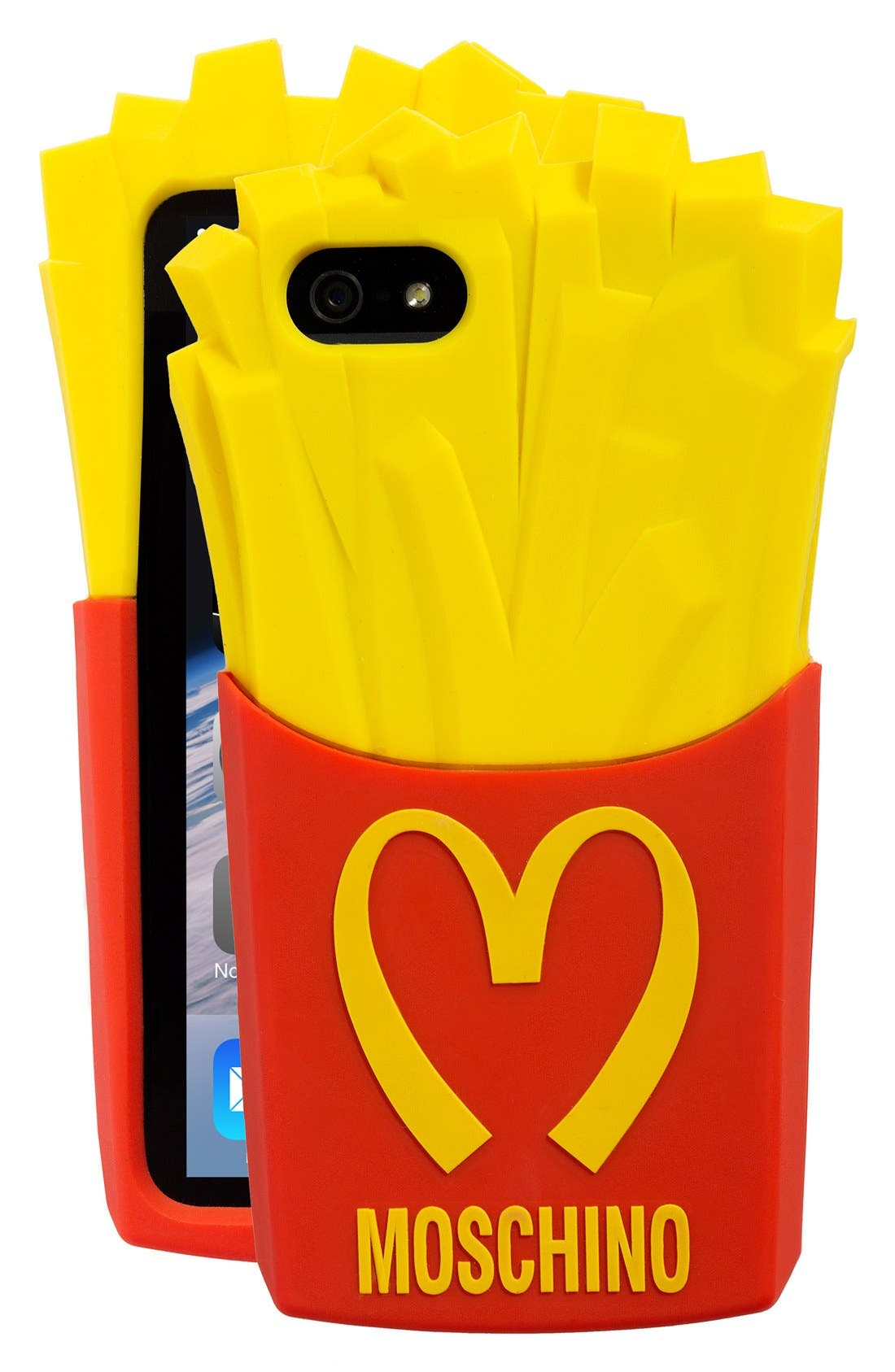 Alternate Image 1 Selected - Moschino 'Fast Food' iPhone 5 Case