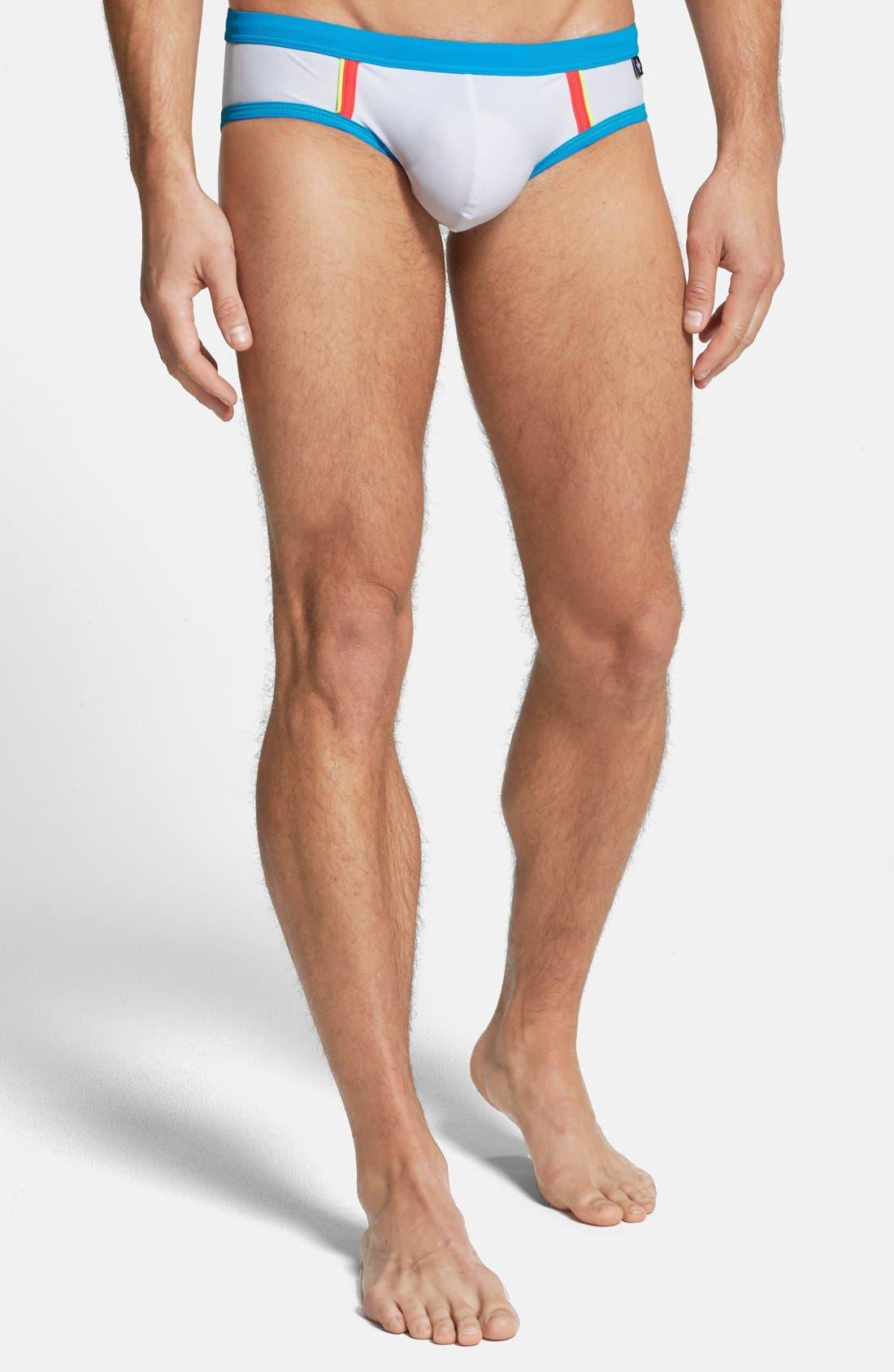 Alternate Image 1 Selected - Andrew Christian 'Almost Naked' Bikini Swim Briefs