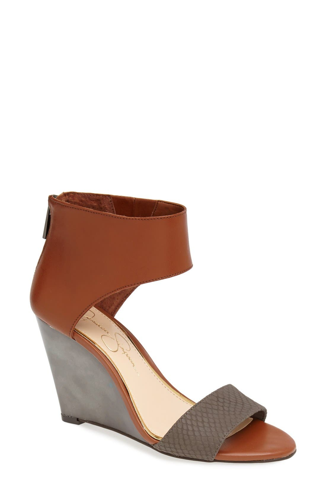 Alternate Image 1 Selected - Jessica Simpson 'Mera' Sandal (Women)