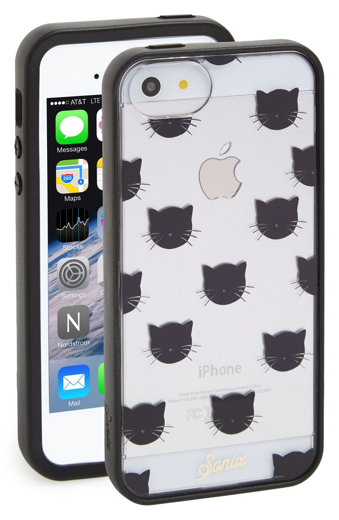 Alternate Image 1 Selected - Sonix 'Kitten' Clear iPhone 5 & 5s Case