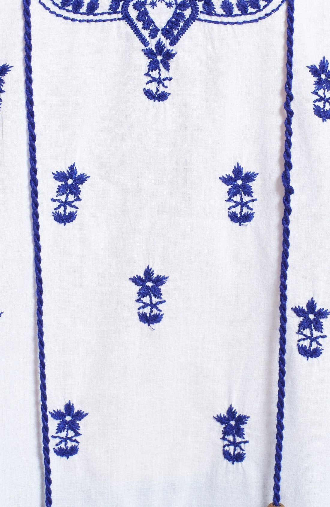 Alternate Image 3  - ECI Embroidered Peasant Tunic