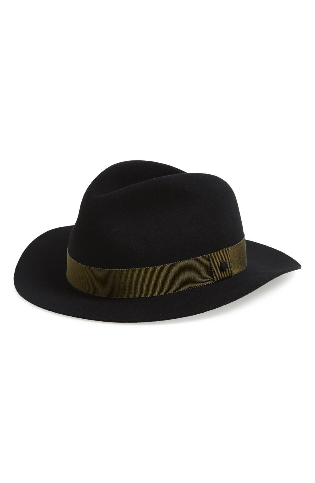 Main Image - rag & bone Floppy Brim Wool Fedora