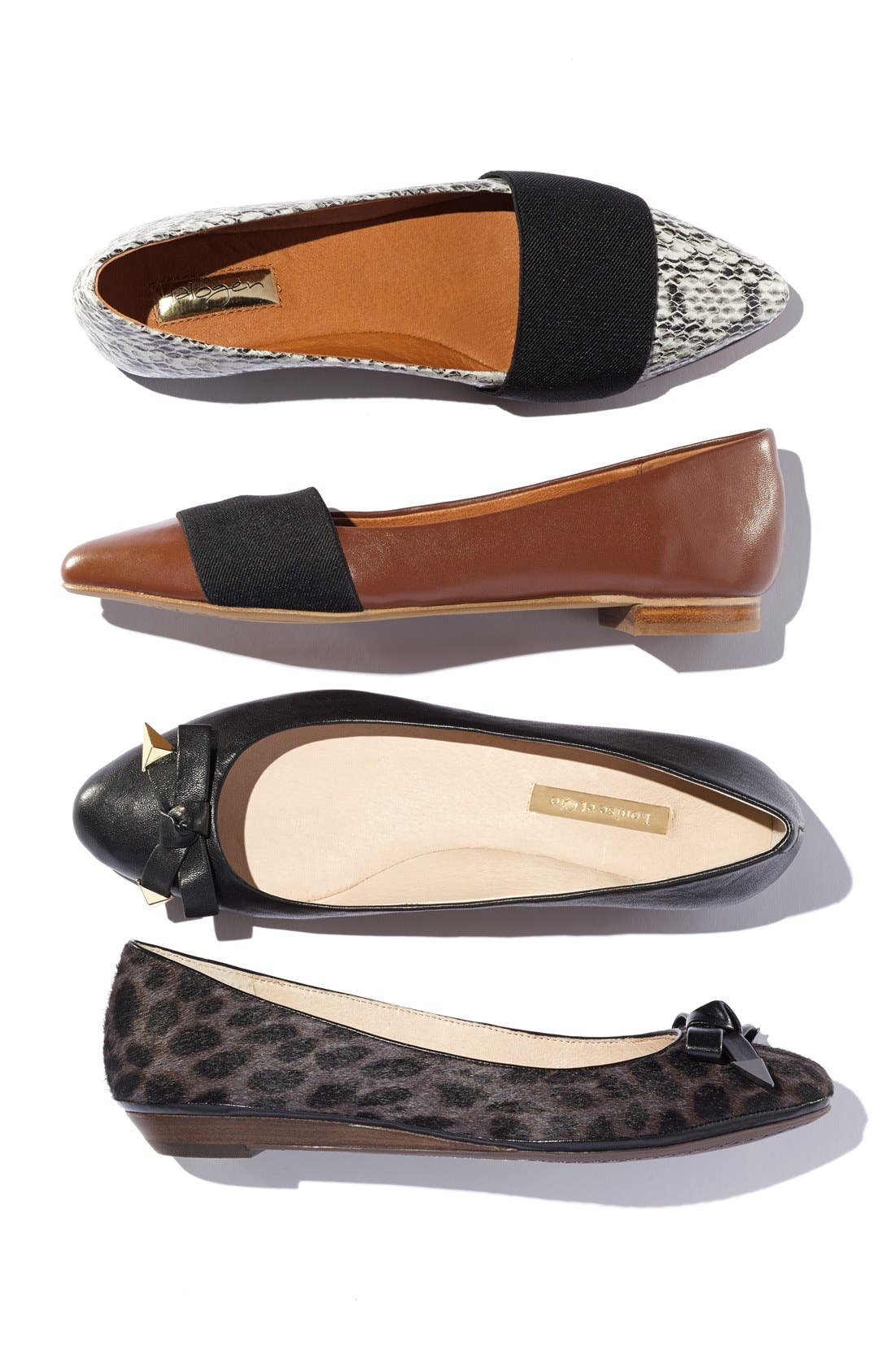 Alternate Image 5  - Louise et Cie 'Azalya' Mini Wedge Flat (Women)
