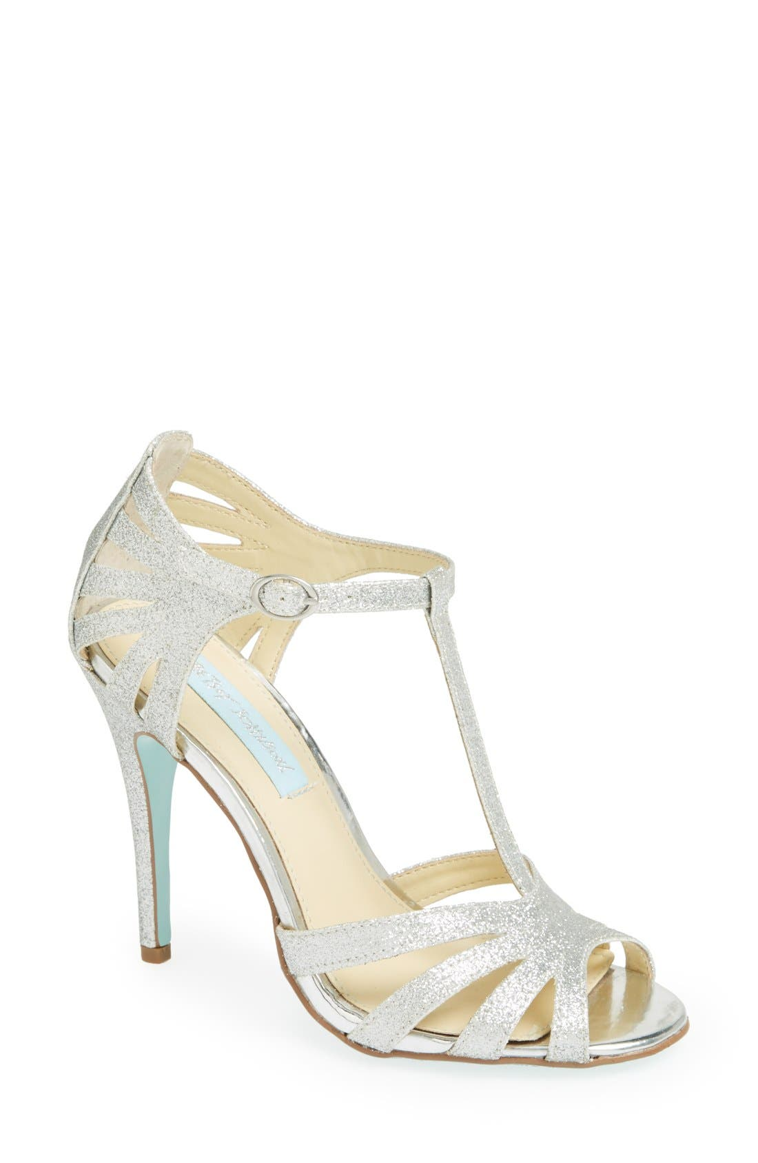 Main Image - Blue by Betsey Johnson 'Tee' Sandal (Women)