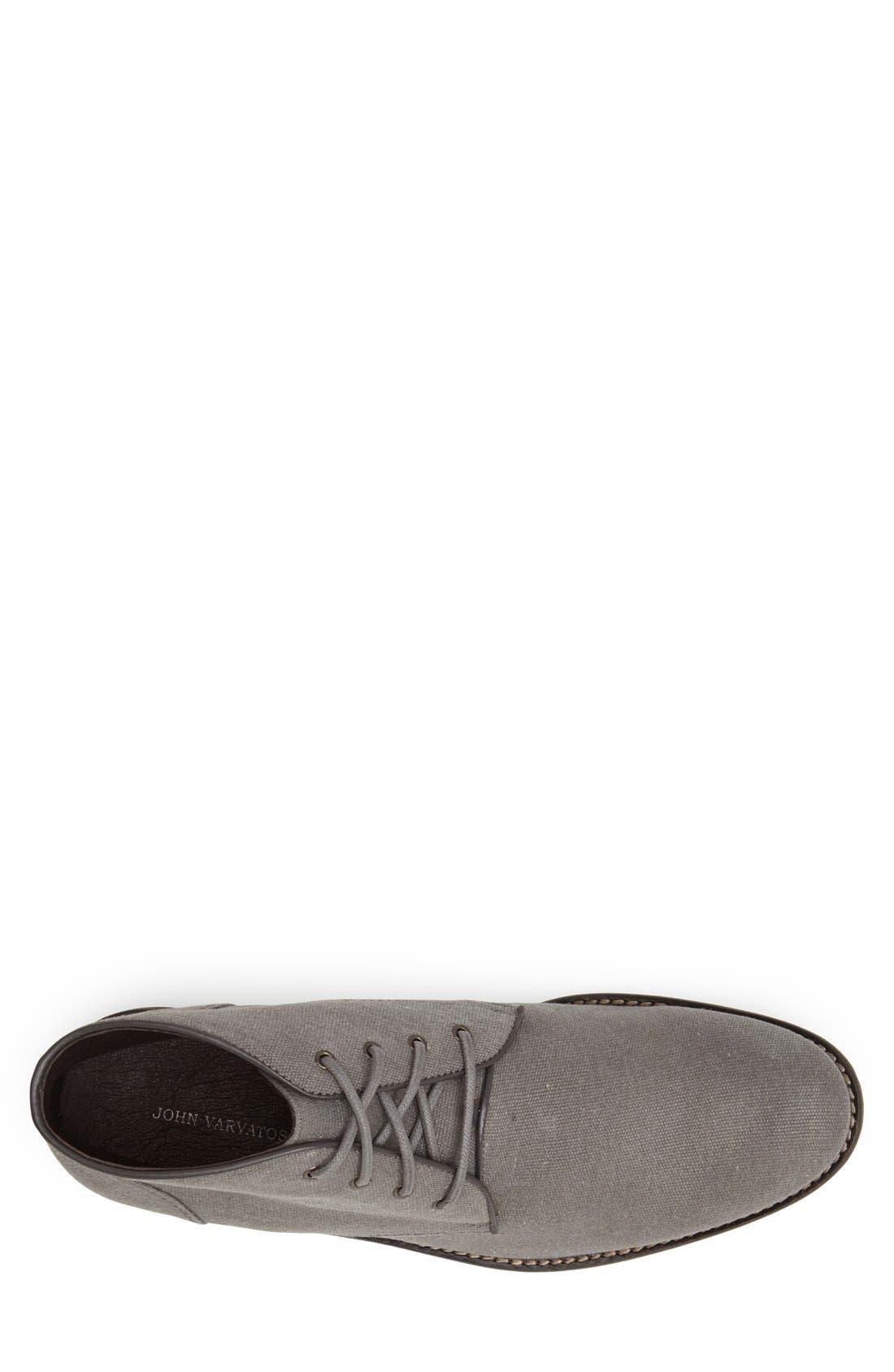 Alternate Image 3  - John Varvatos Star USA 'Sid' Plain Toe Canvas Boot (Men)