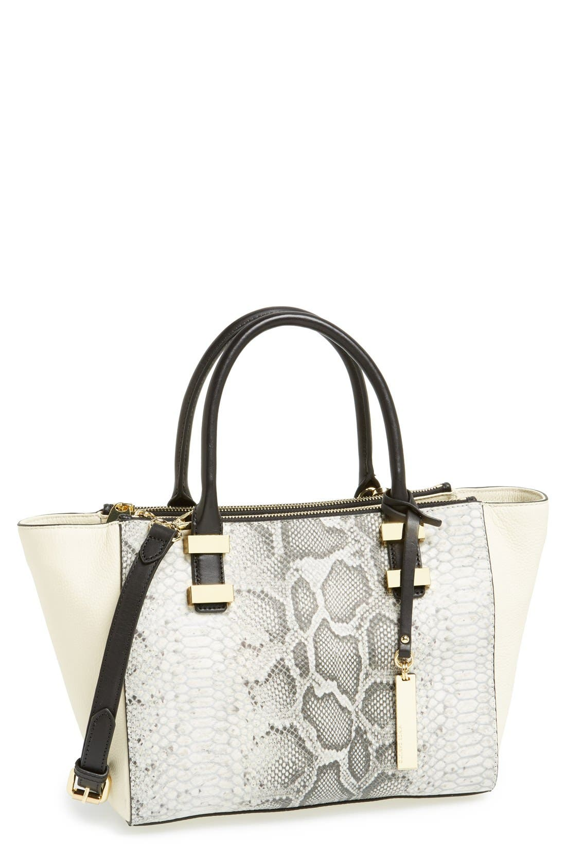 Alternate Image 1 Selected - Vince Camuto 'Mandy' Leather Satchel