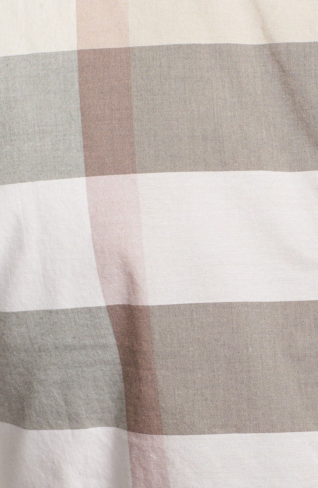 Alternate Image 3  - Burberry Brit Pieced Check Shirt