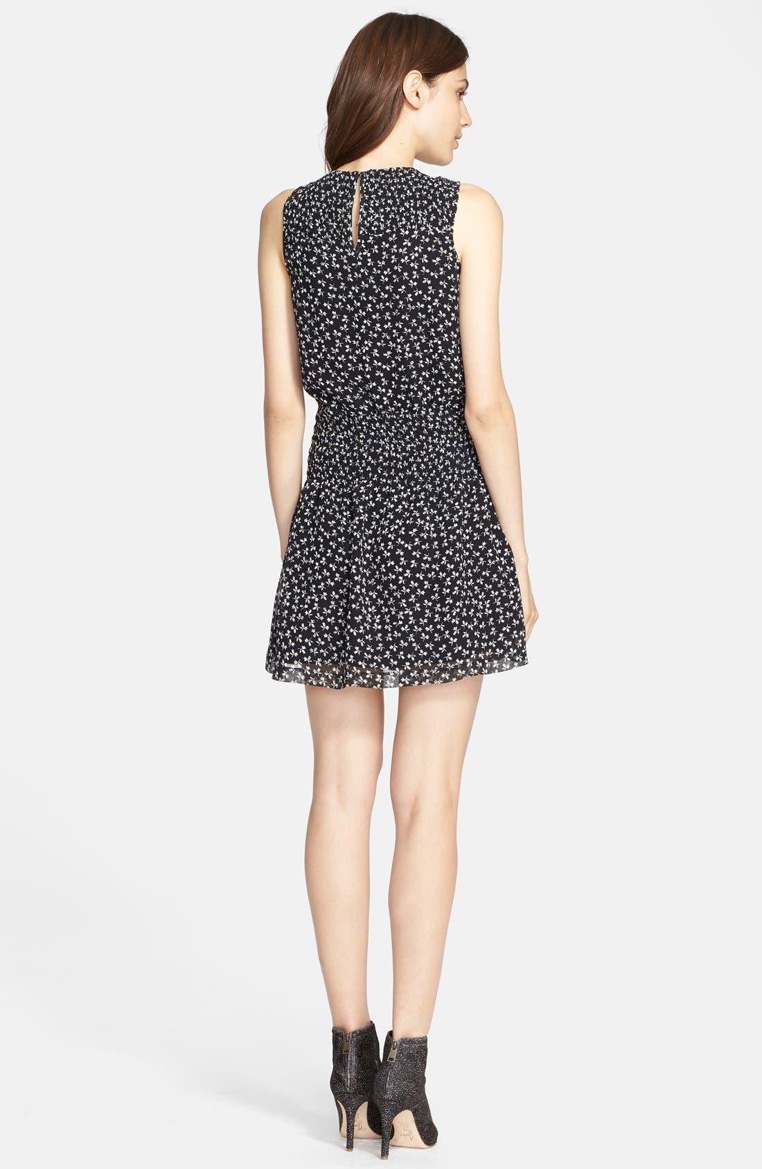 Alternate Image 2  - Joie 'Kieran' Print Silk Blouson Dress
