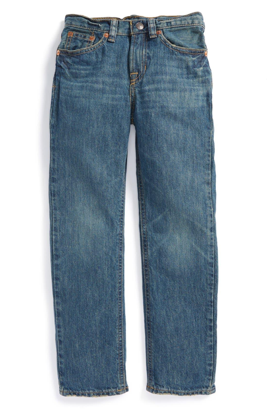 Alternate Image 1 Selected - Ralph Lauren 'Mott' Slim Fit Jeans (Little Boys)
