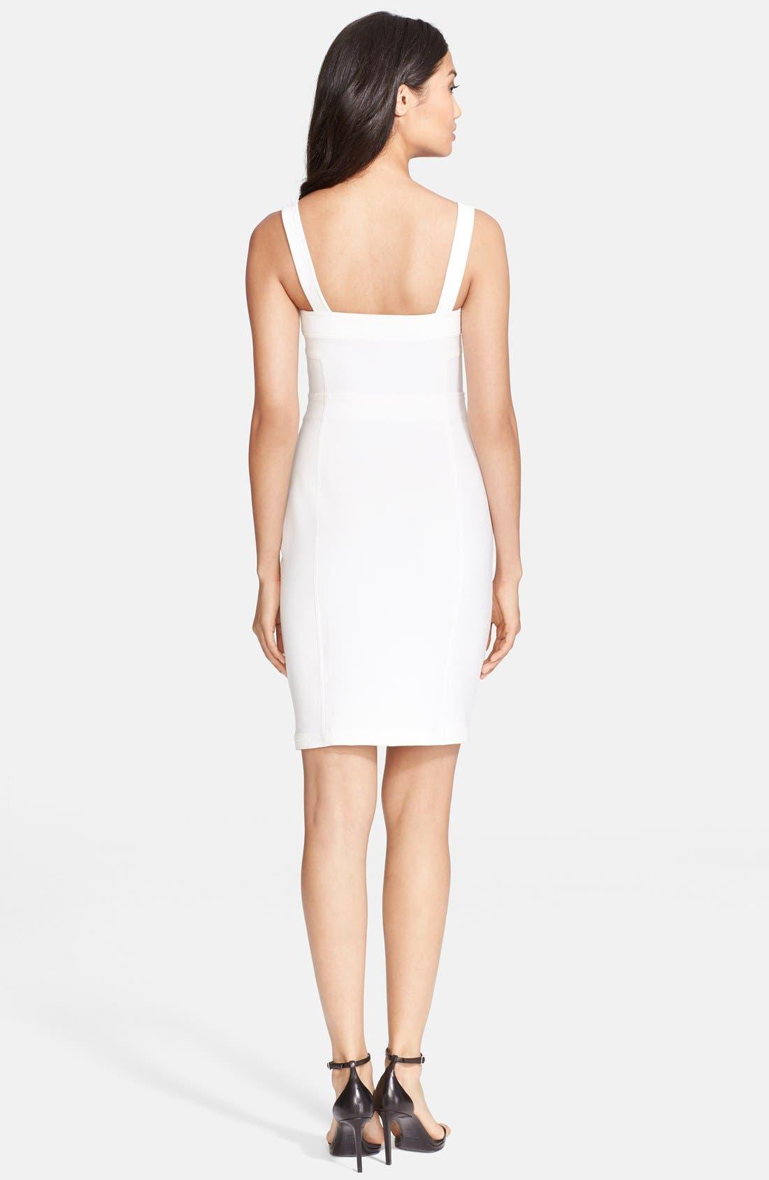 Alternate Image 2  - Diane von Furstenberg 'Scottland' Corset Dress