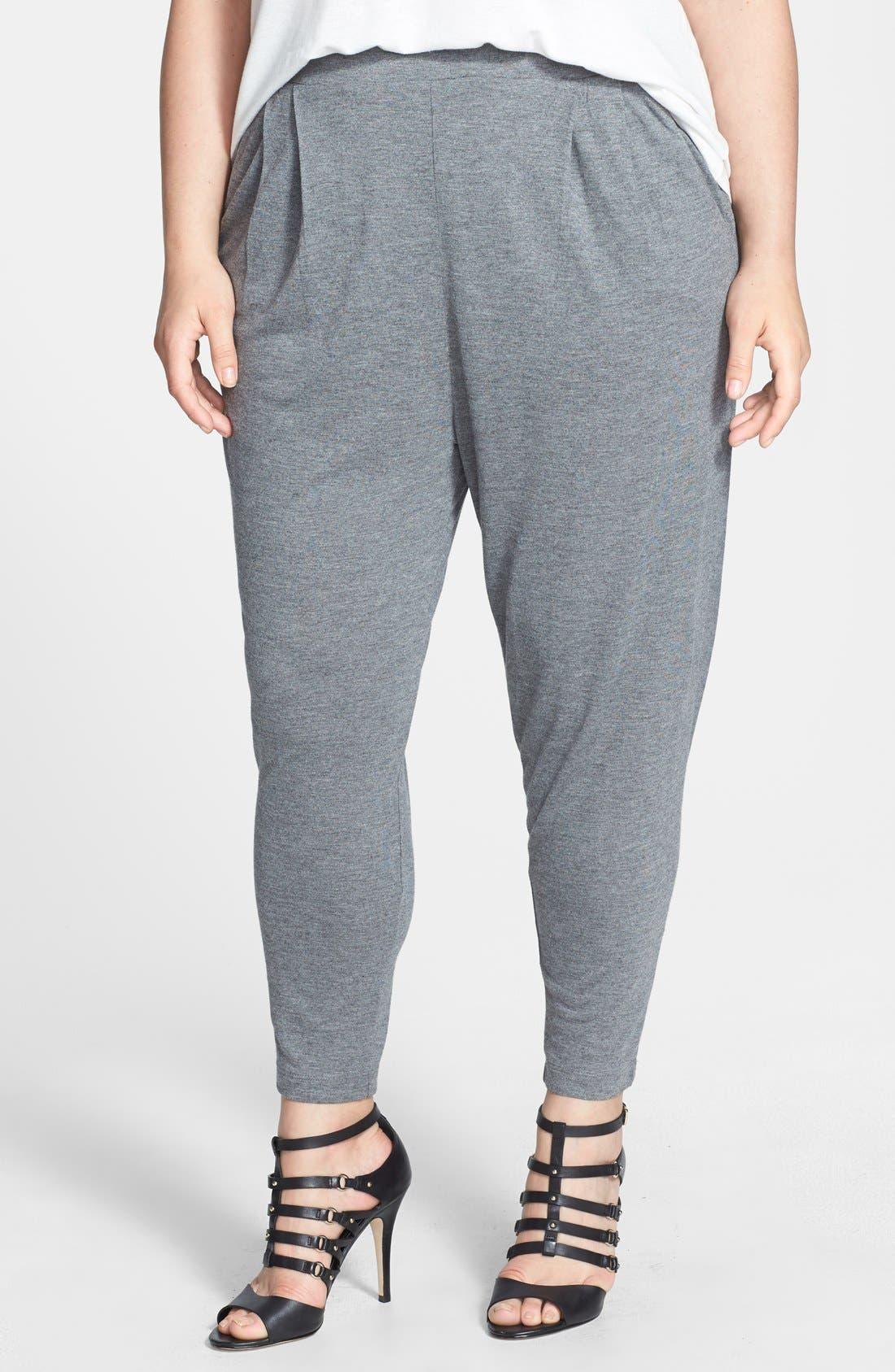 Main Image - Jessica Simpson 'Hadley' Slouchy Pants (Plus Size)