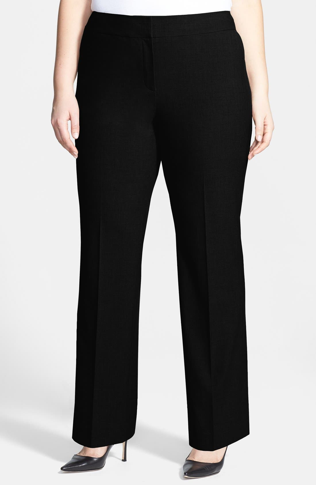 Alternate Image 4  - Sejour 'Ela' Curvy Fit Pants (Plus Size & Petite Plus)