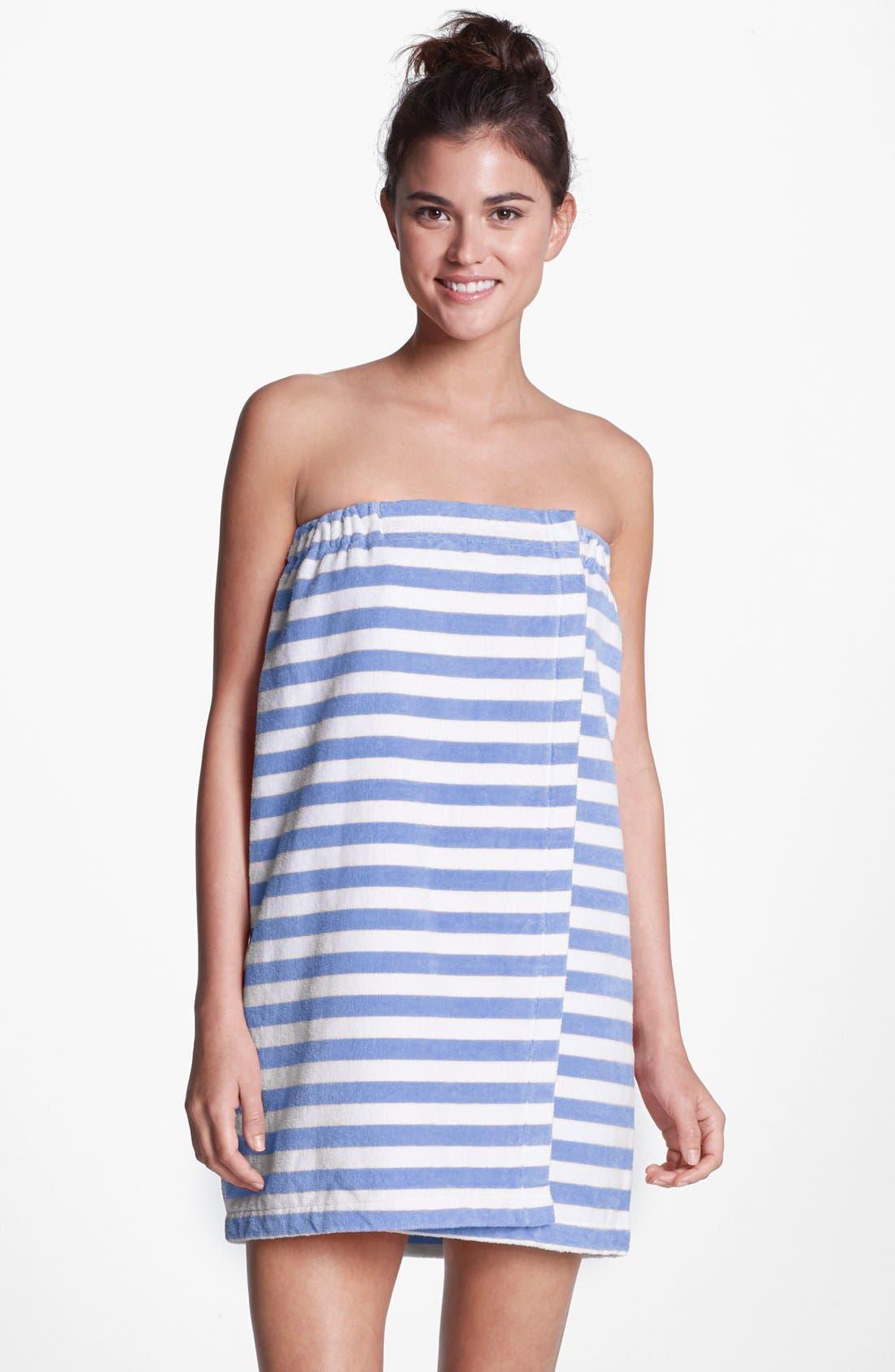 Alternate Image 1 Selected - Make + Model 'Summer Towel' Shower Wrap