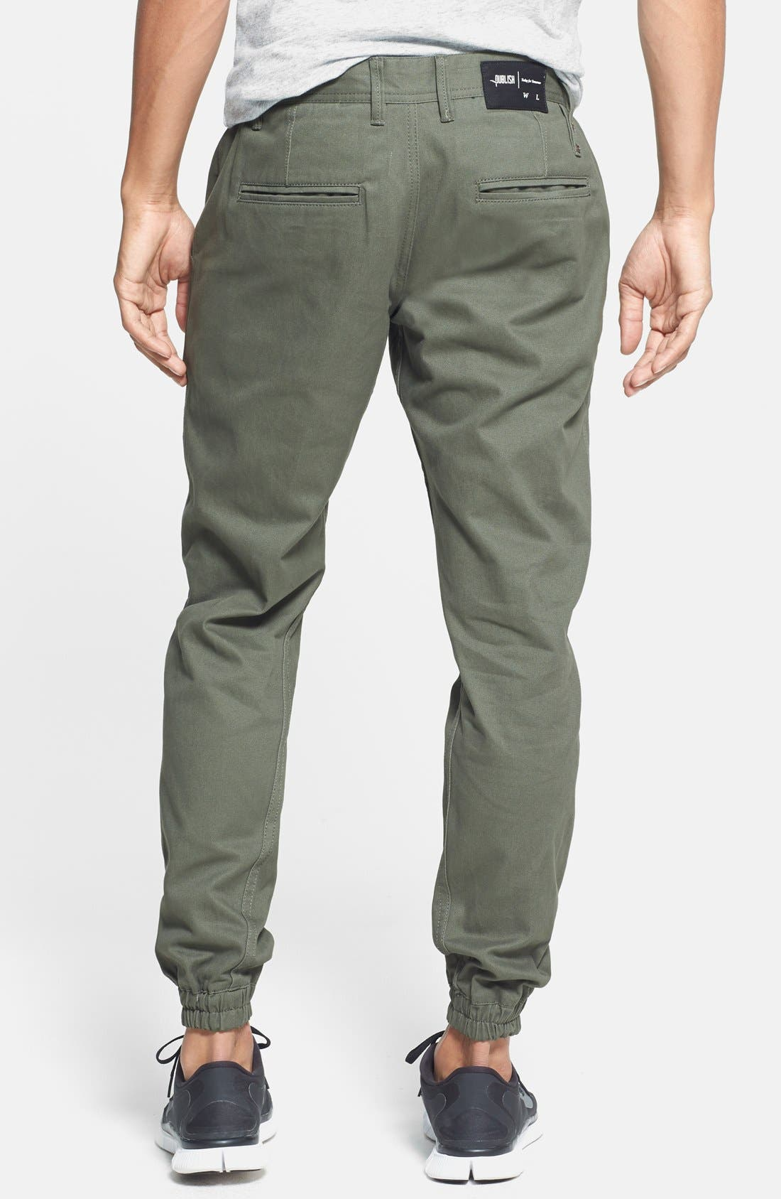 Alternate Image 2  - PUBLISH BRAND Tailored Fit Jogger Chinos