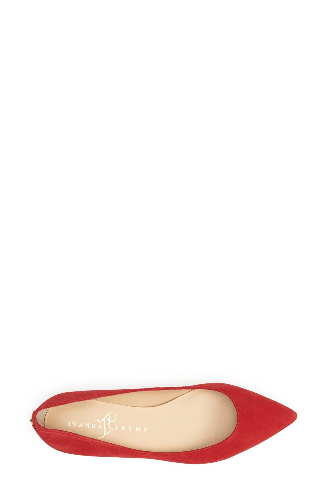 Alternate Image 3  - Ivanka Trump 'Tizzy' Pointed Toe Ballet Flat (Women)
