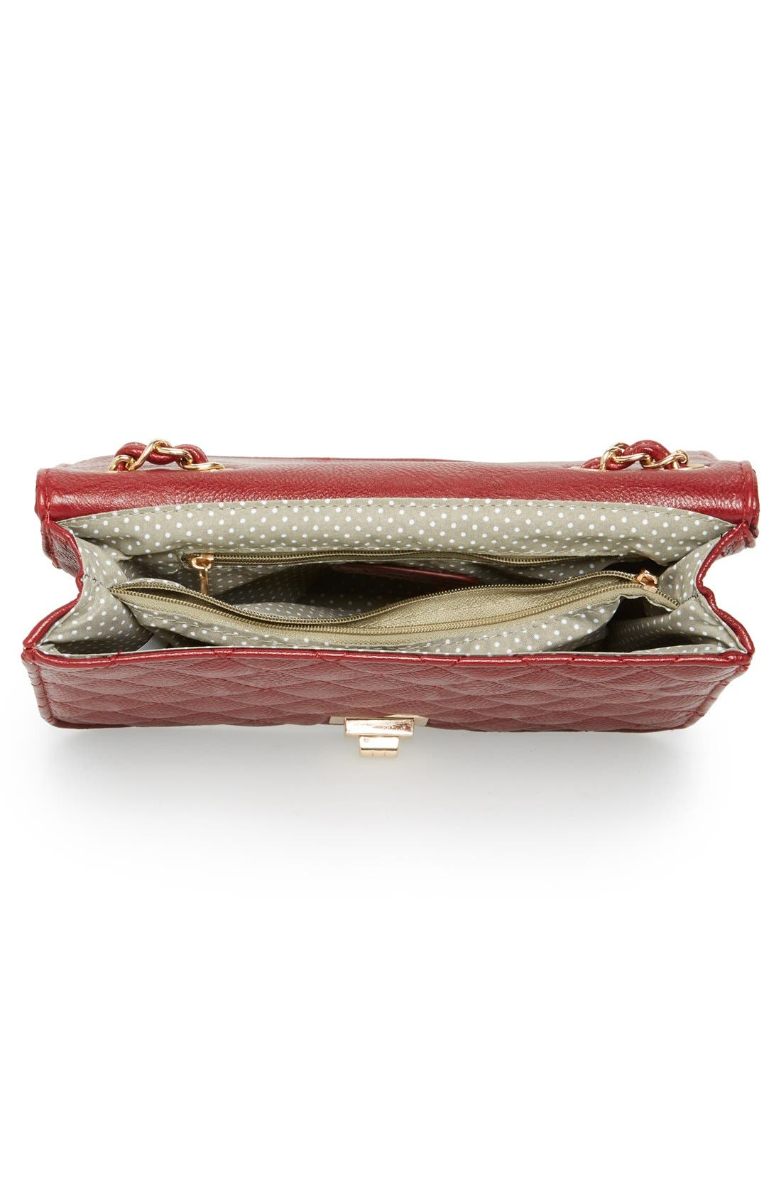 Alternate Image 3  - NB Handbags Quilted Convertible Crossbody Bag (Juniors) (Online Only)