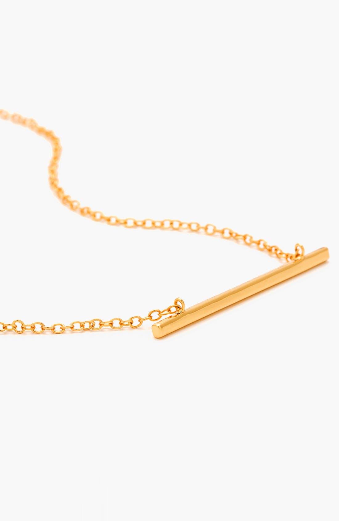 Alternate Image 4  - gorjana 'Mave' Bar Pendant Necklace