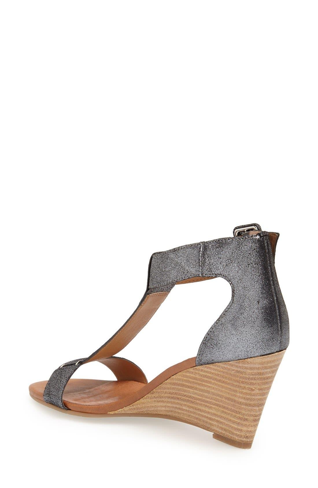 Alternate Image 2  - Caslon® 'Ramona' T-Strap Wedge Sandal