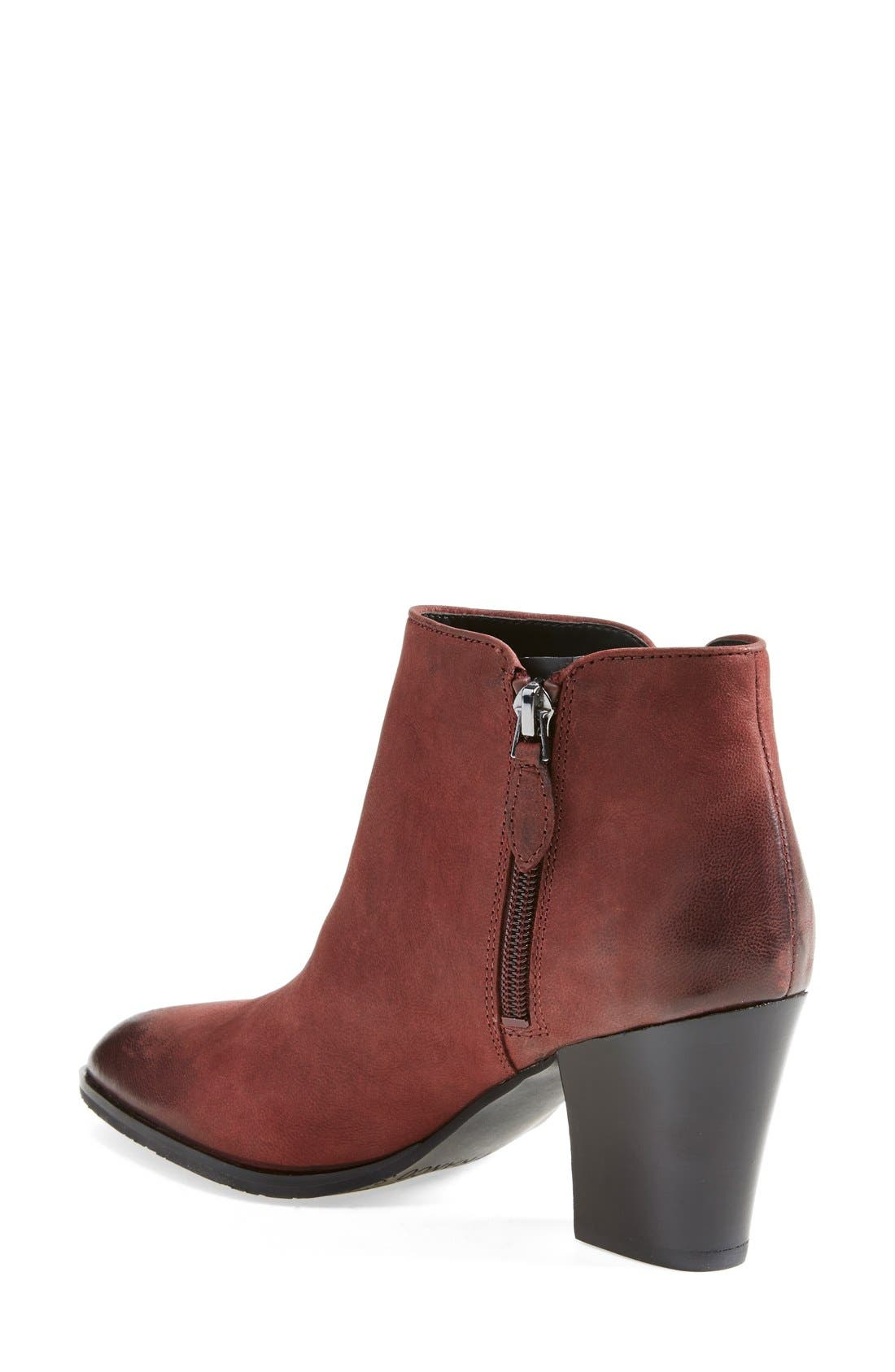 Alternate Image 2  - Franco Sarto 'Agenda' Leather Bootie (Women)