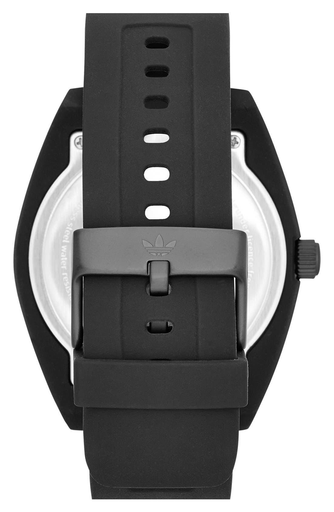 Alternate Image 2  - adidas Originals 'Santiago XL' Silicone Strap Watch, 50mm