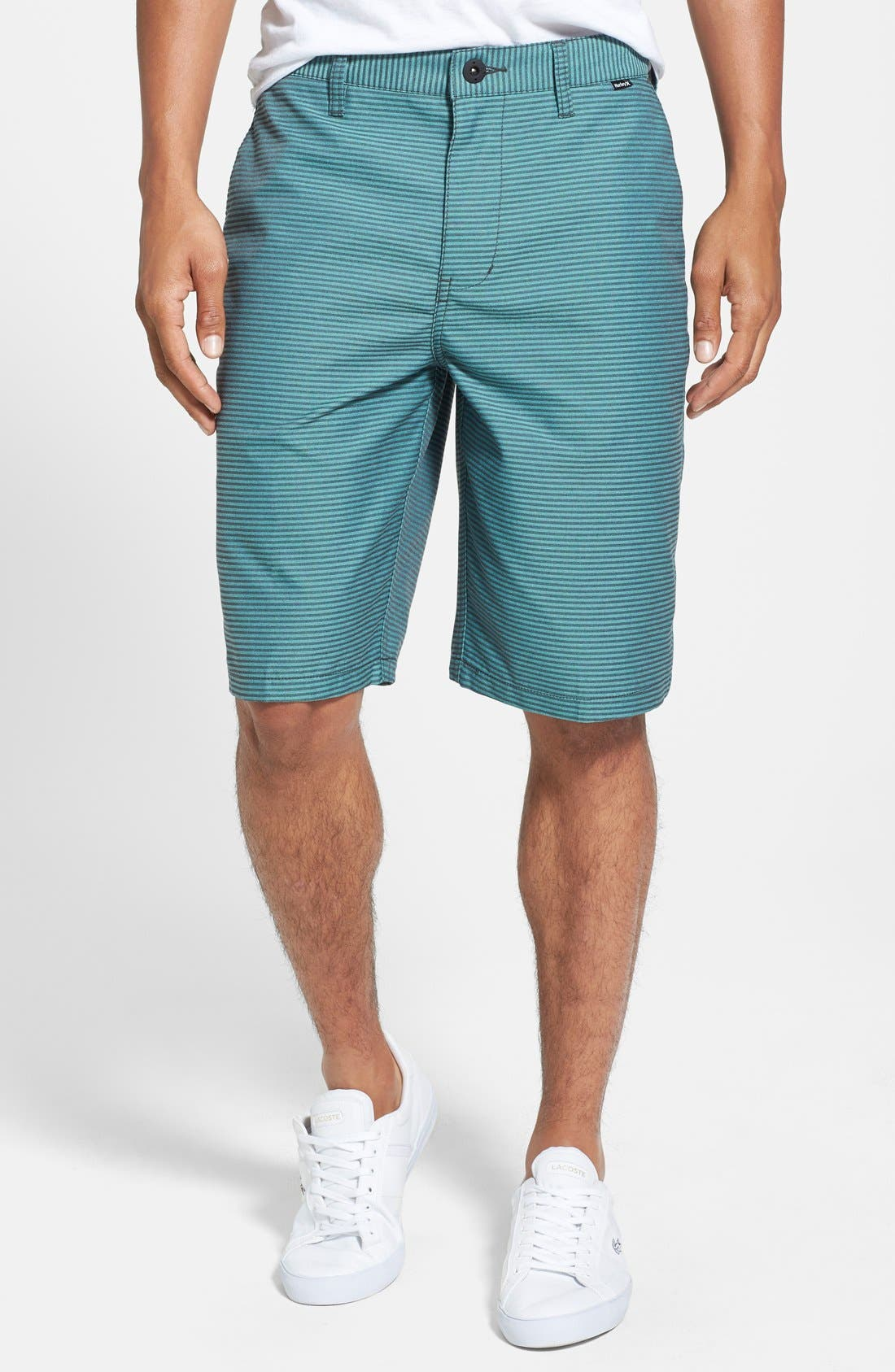 Main Image - Hurley 'Hickory' Herringbone Dri-FIT Shorts