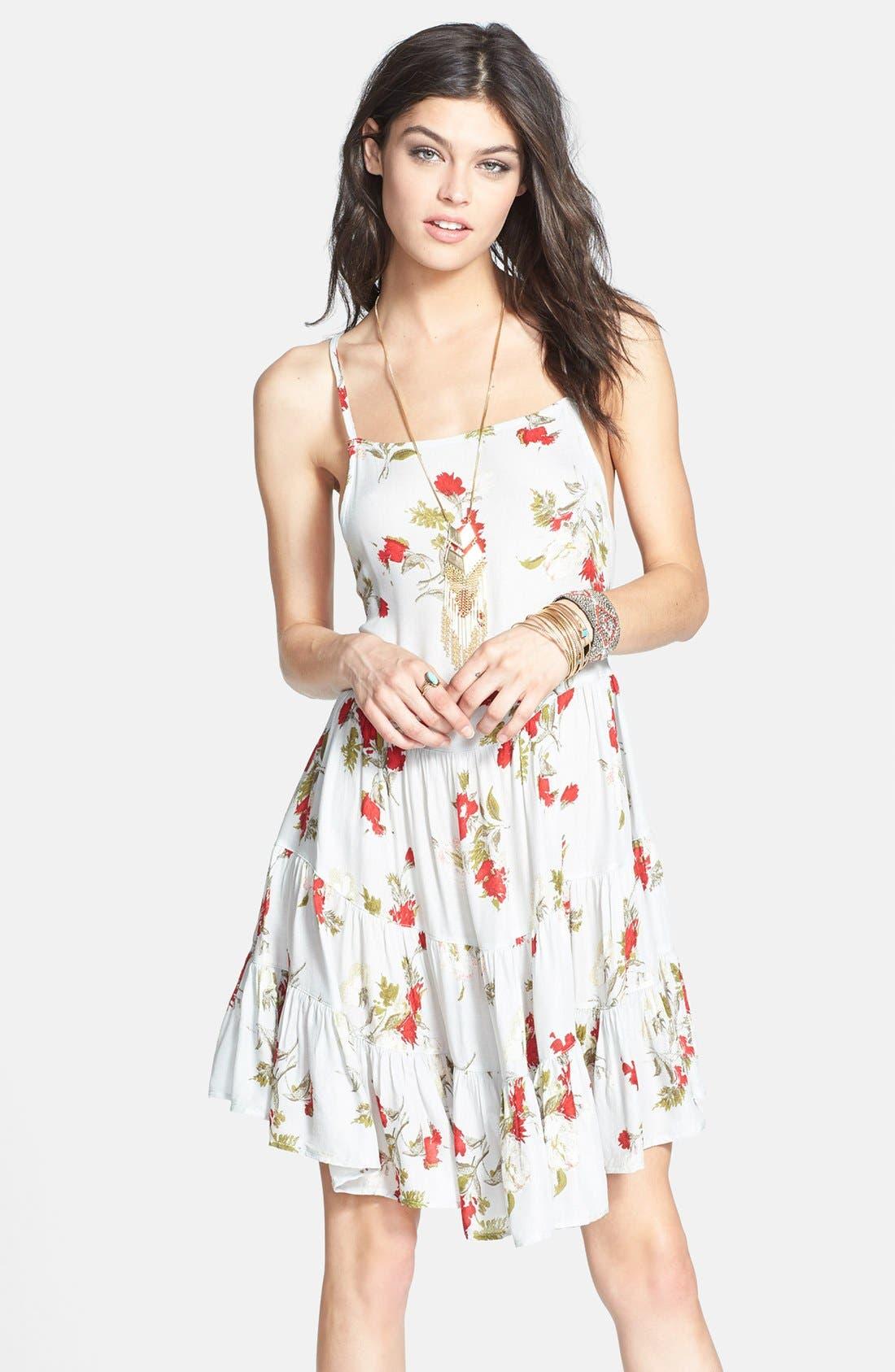 Alternate Image 1 Selected - Free People Flower Print Slipdress