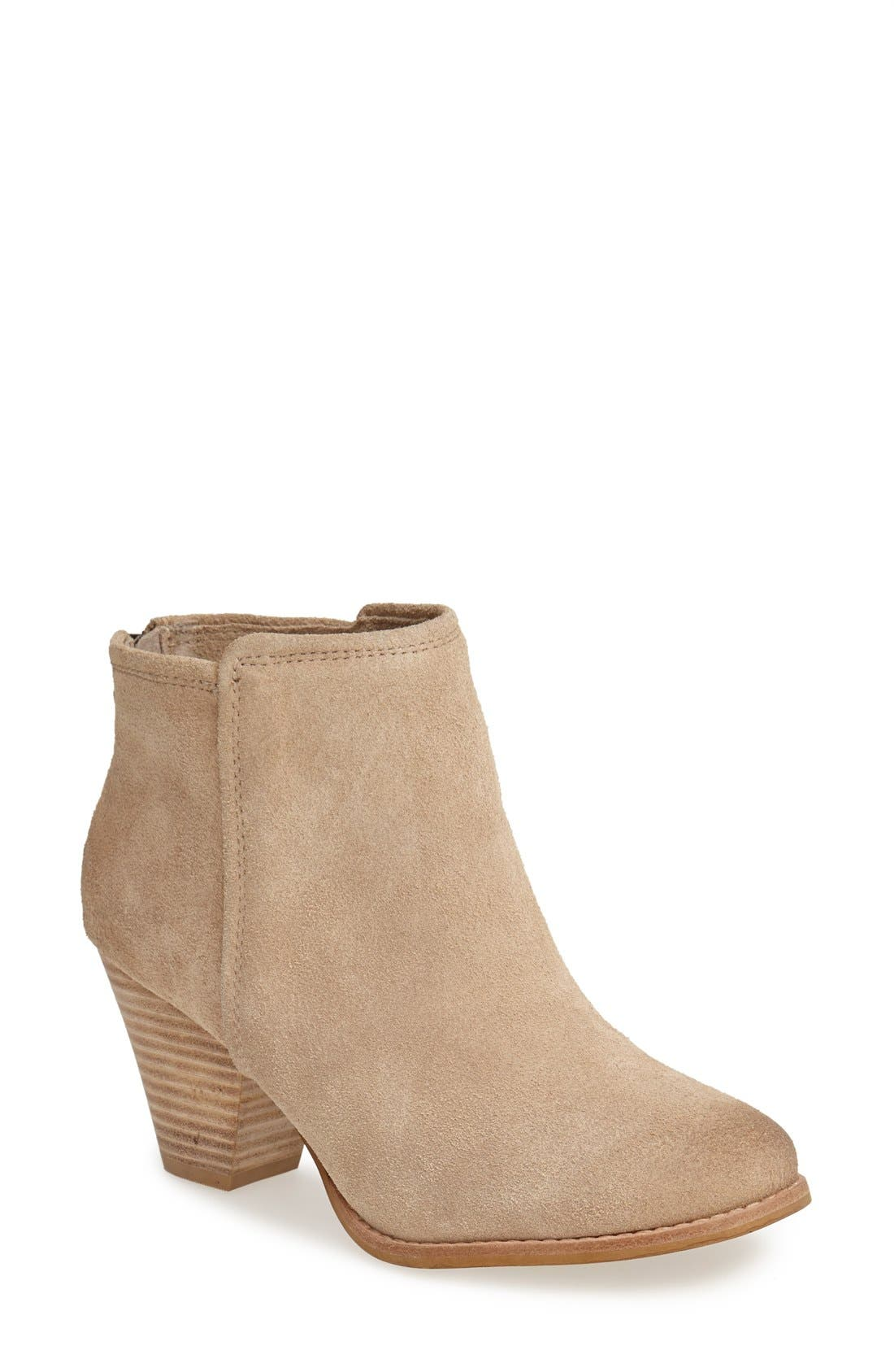 Alternate Image 1 Selected - Splendid 'Roland' Suede Ankle Bootie (Women)