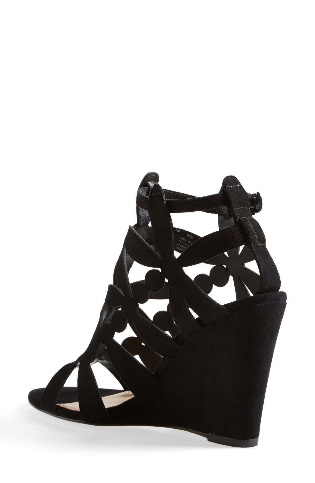 Alternate Image 2  - Tory Burch 'Emerson' Cage Wedge Sandal (Women)