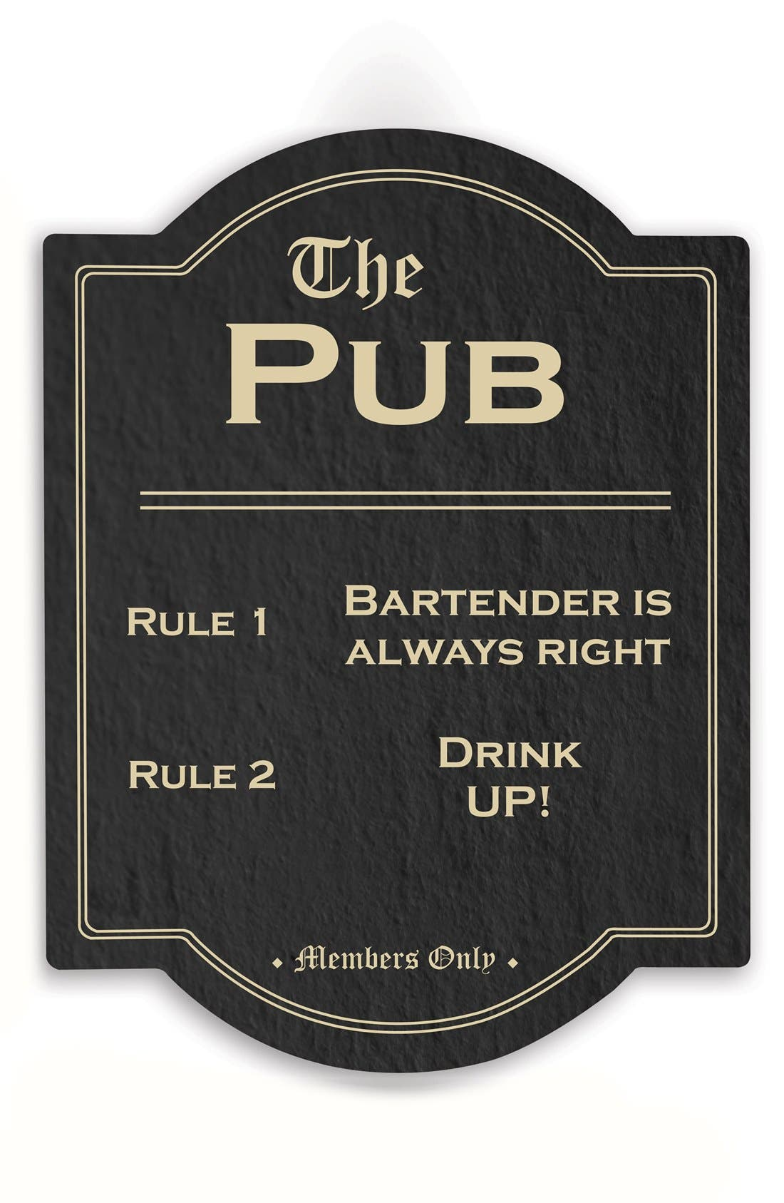 Alternate Image 1 Selected - Cathy's Concepts 'The Pub' Wall Sign