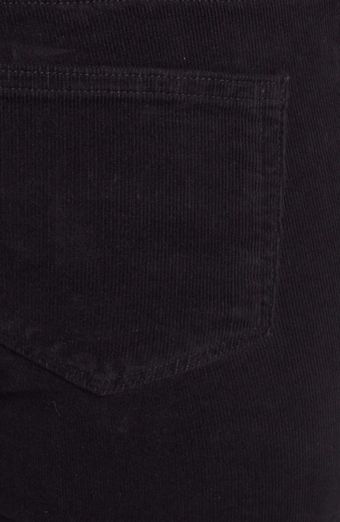Alternate Image 3  - Paige Denim 'Jane' Zip Detail Ultra Skinny Corduroy Pants