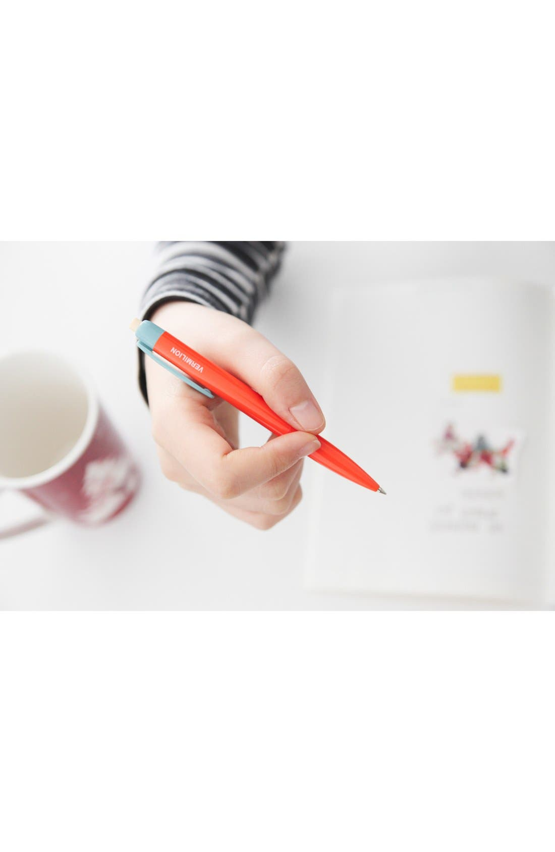 Alternate Image 2  - Poketo 'Color Block' Medium Tip Retractable Ballpoint Pens (Set of 3)